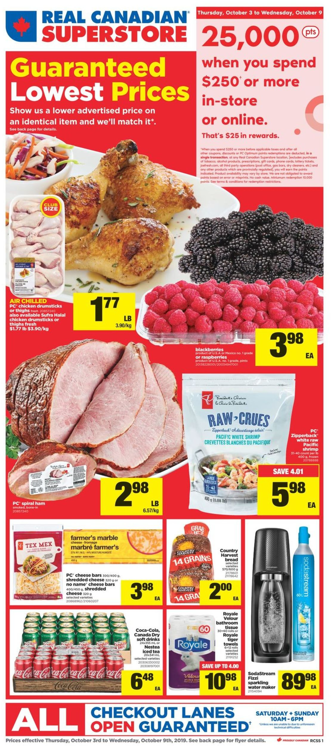 Real Canadian Superstore Flyer - 10/03-10/09/2019