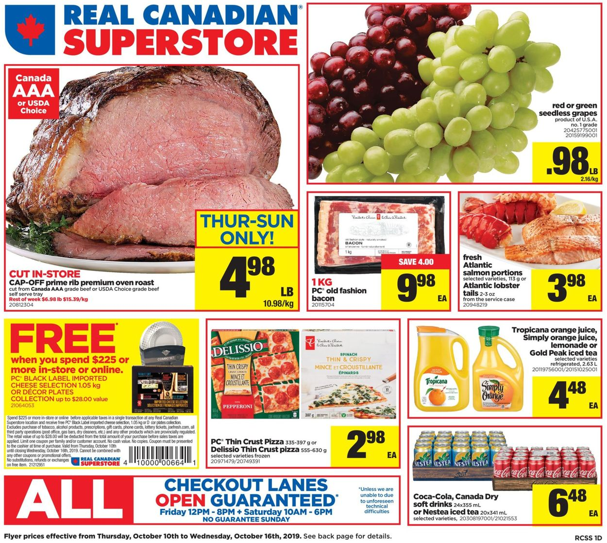 Real Canadian Superstore Flyer - 10/10-10/16/2019