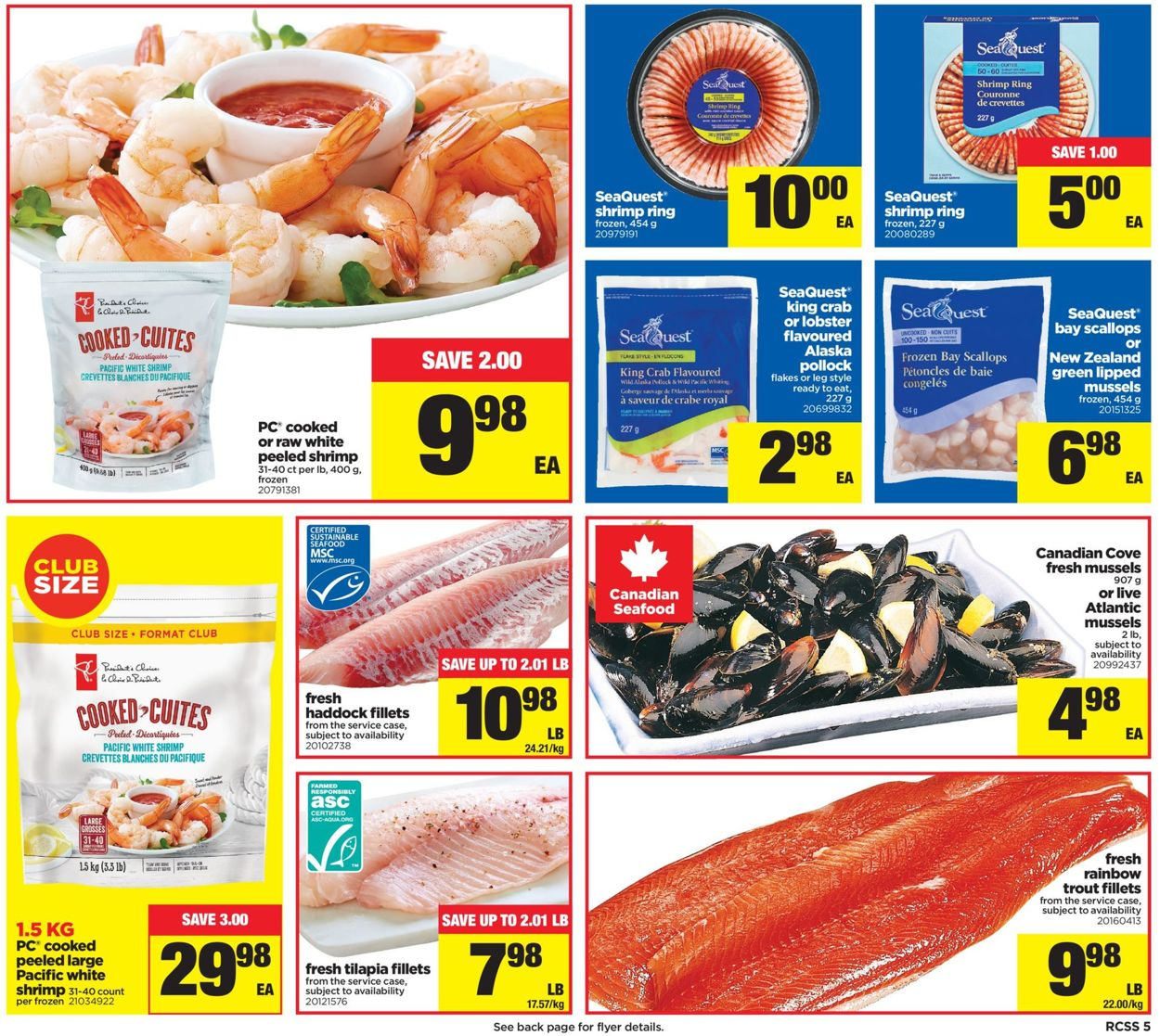 Real Canadian Superstore Flyer - 10/10-10/16/2019 (Page 5)