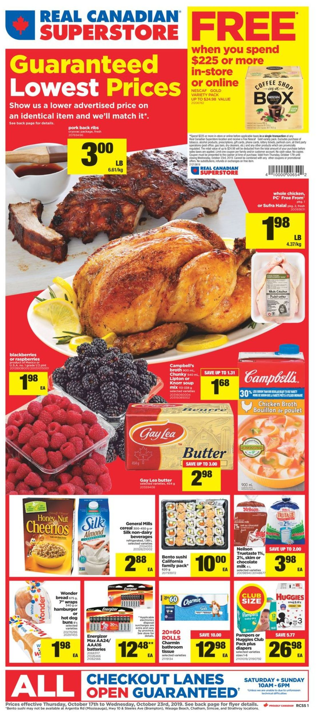 Real Canadian Superstore Flyer - 10/17-10/23/2019