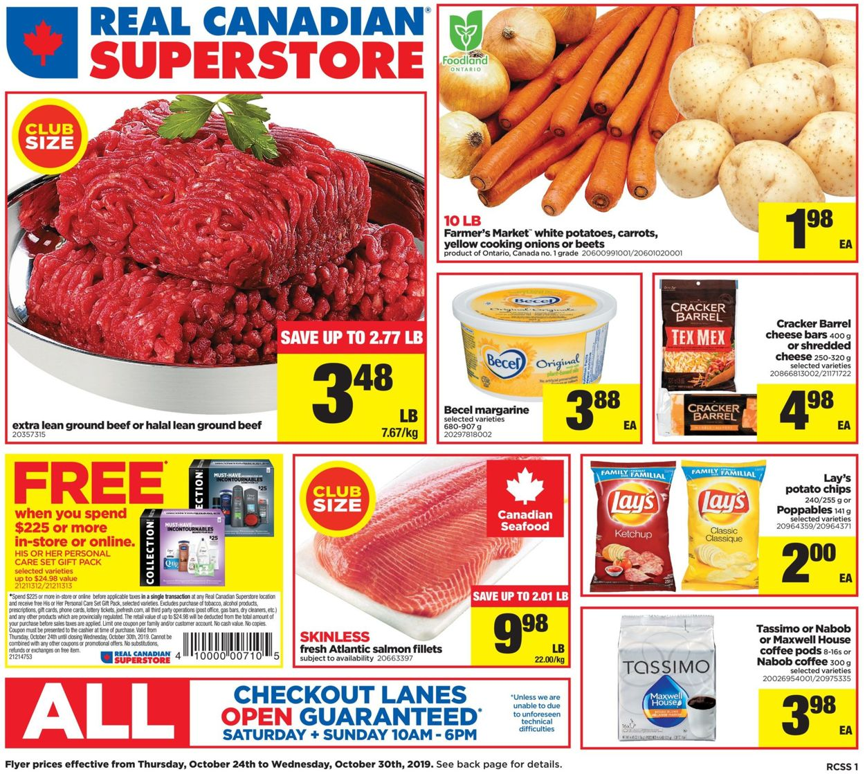 Real Canadian Superstore Flyer - 10/24-10/30/2019