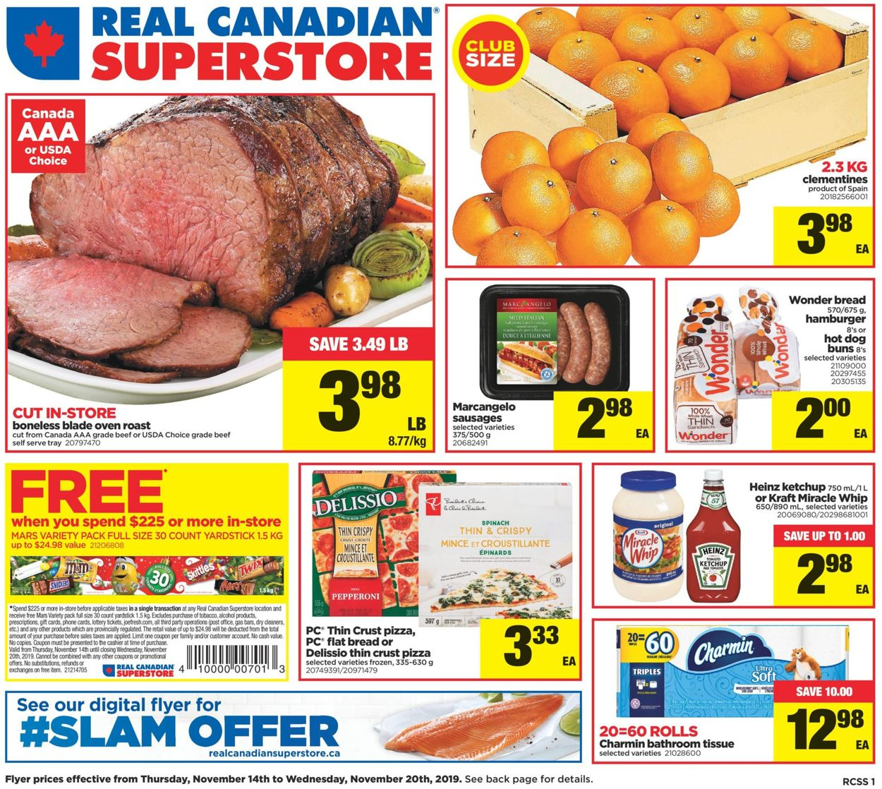 Real Canadian Superstore Flyer - 11/14-11/20/2019