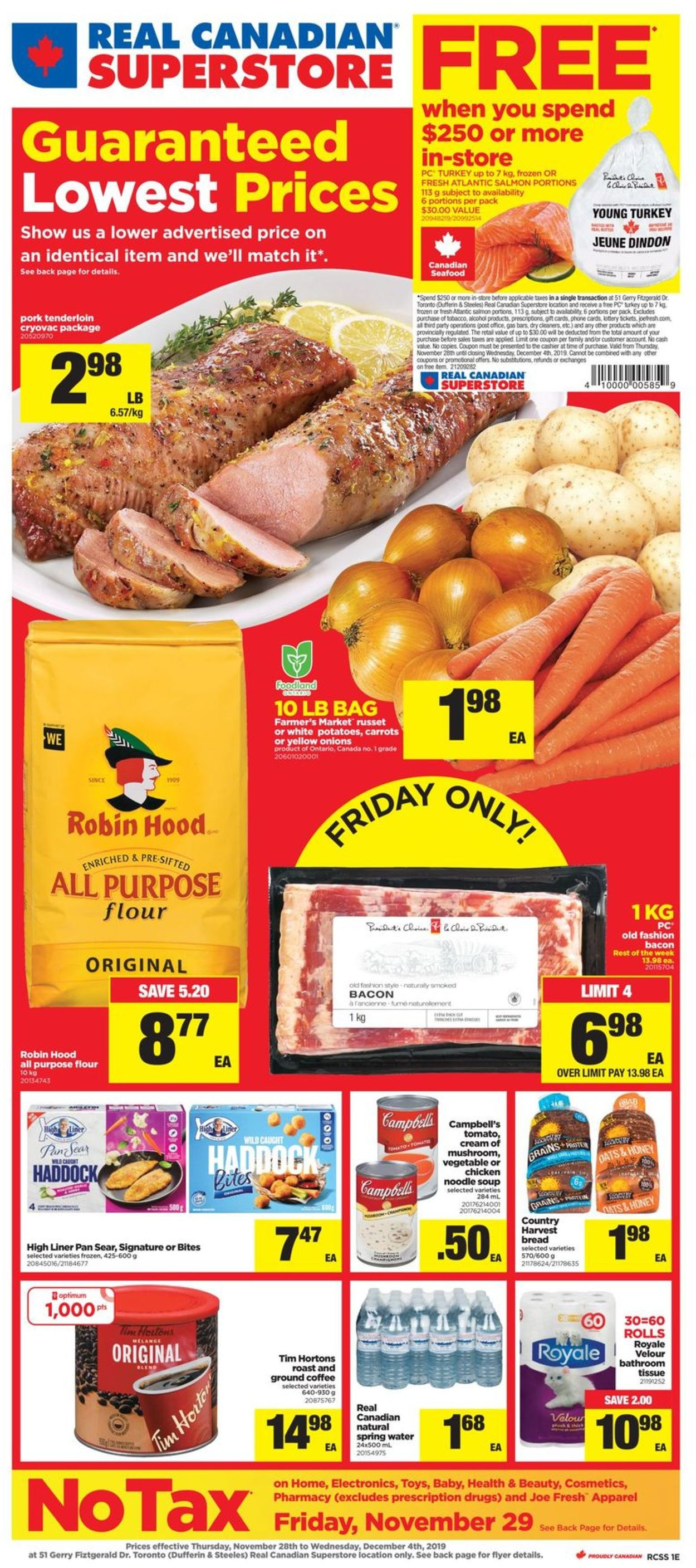 Real Canadian Superstore Flyer - 11/28-12/04/2019