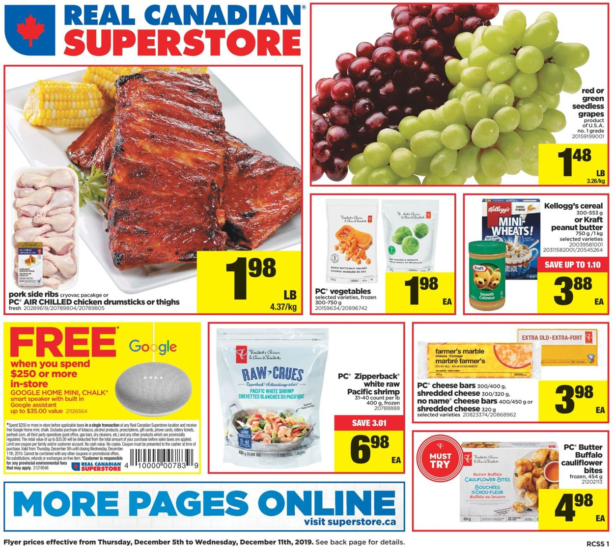 Real Canadian Superstore Flyer - 12/05-12/11/2019