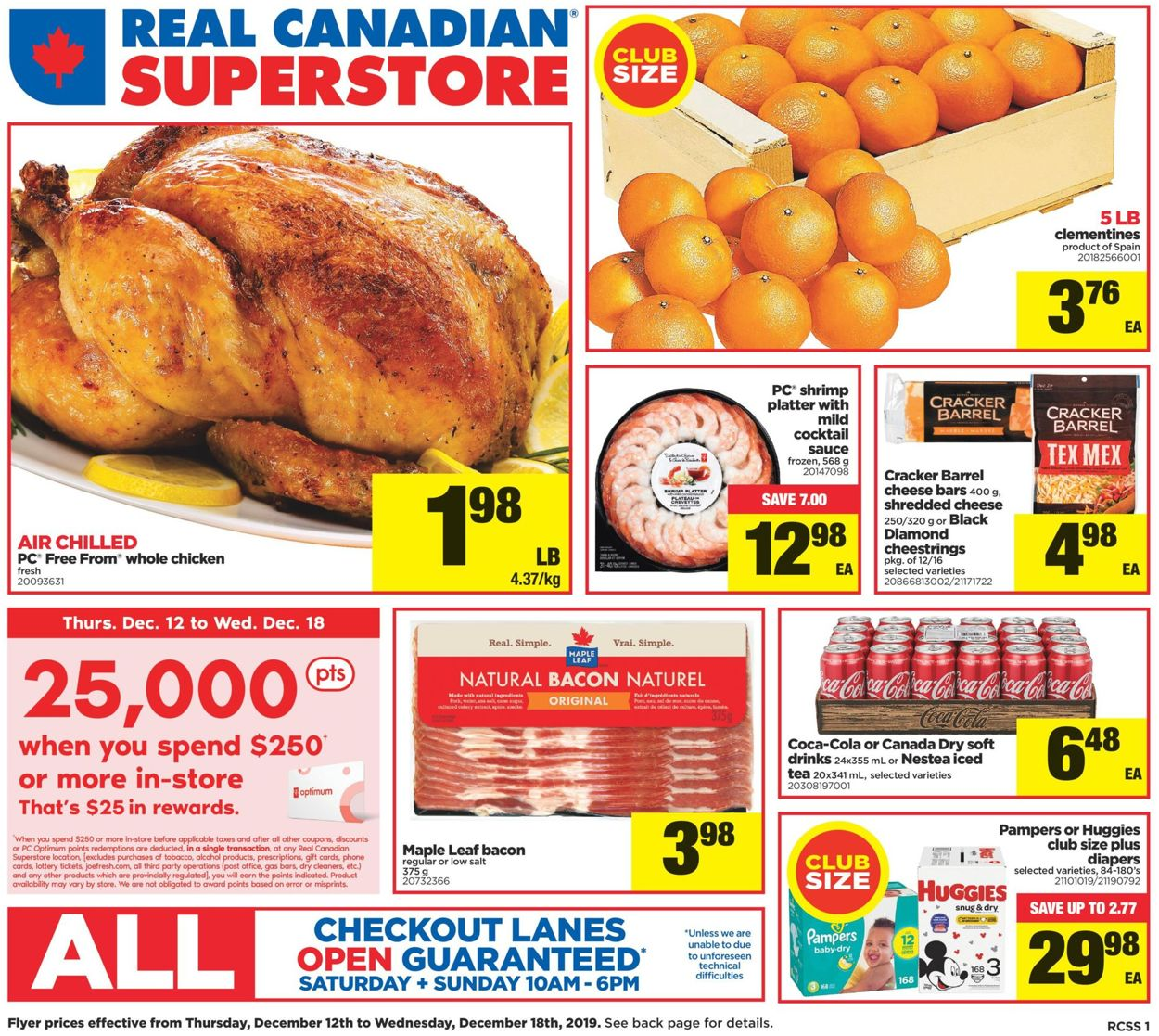 Real Canadian Superstore - Holiday 2019 Deals Flyer - 12/12-12/18/2019