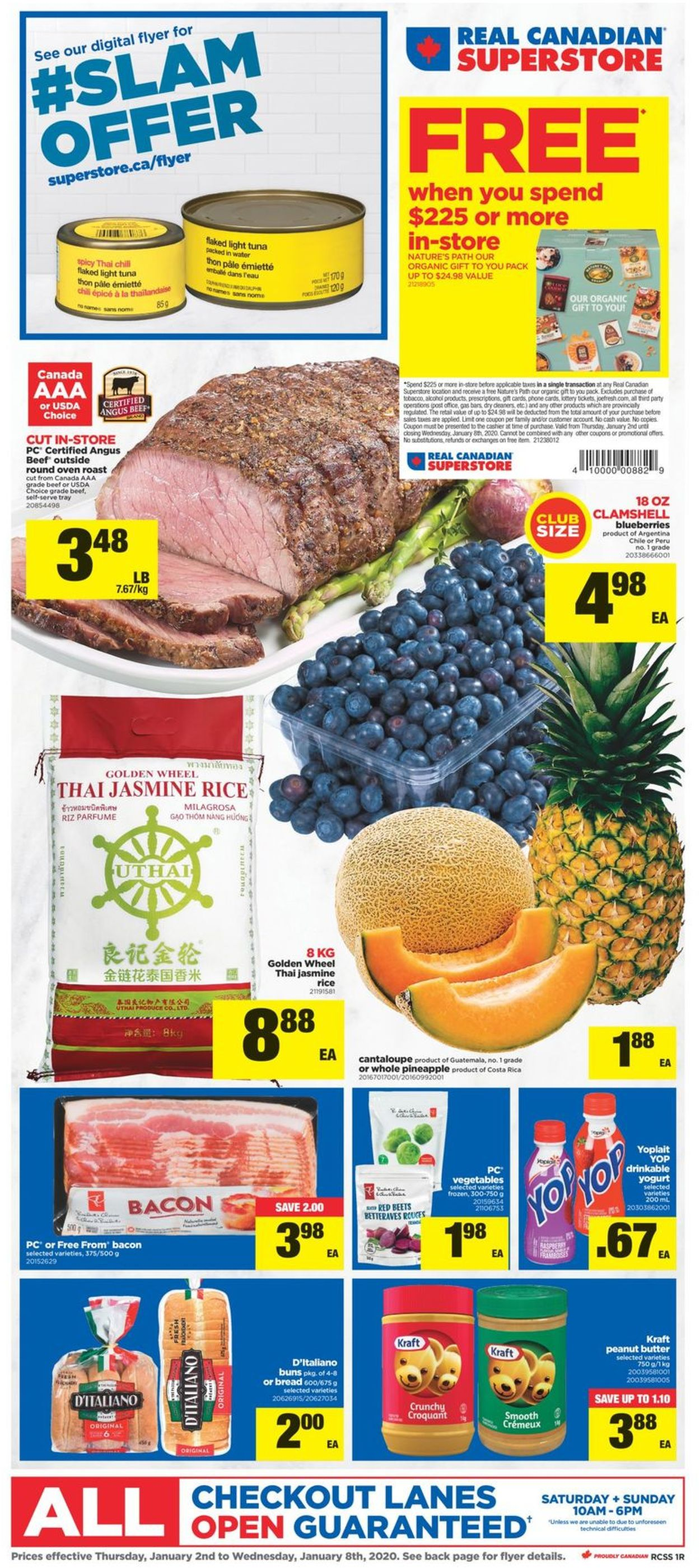 Real Canadian Superstore Flyer - 01/02-01/08/2020