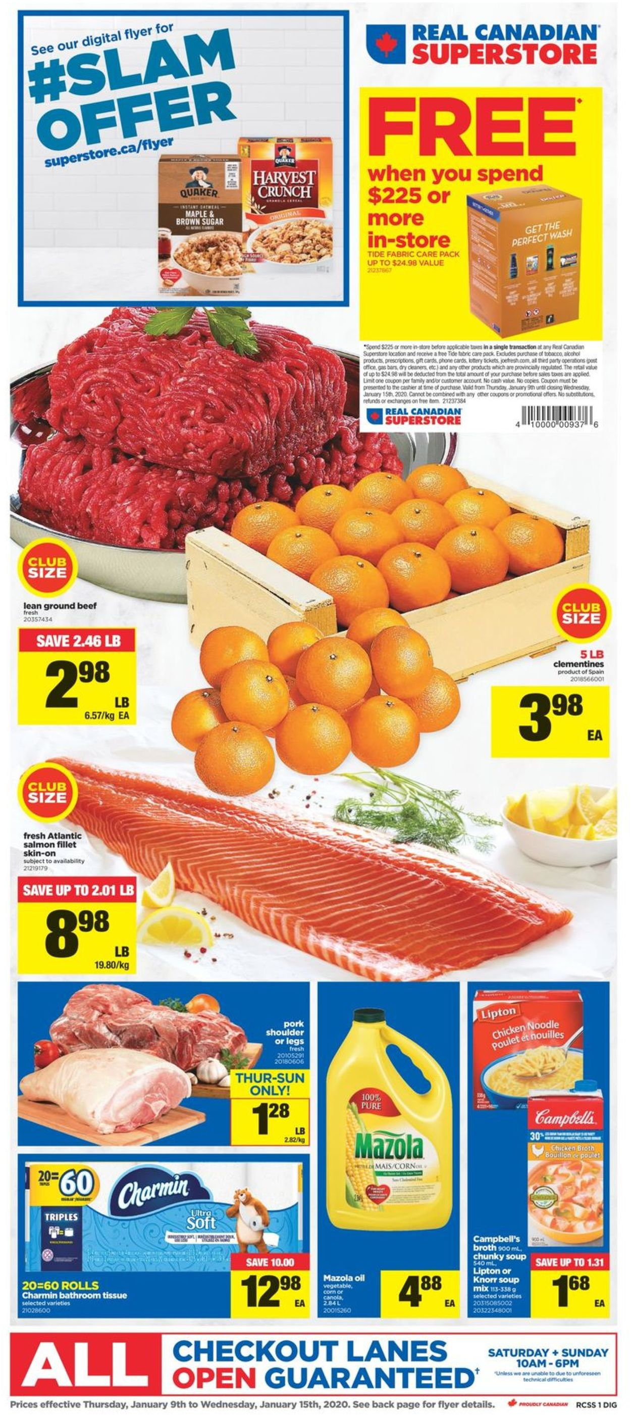 Real Canadian Superstore Flyer - 01/09-01/15/2020