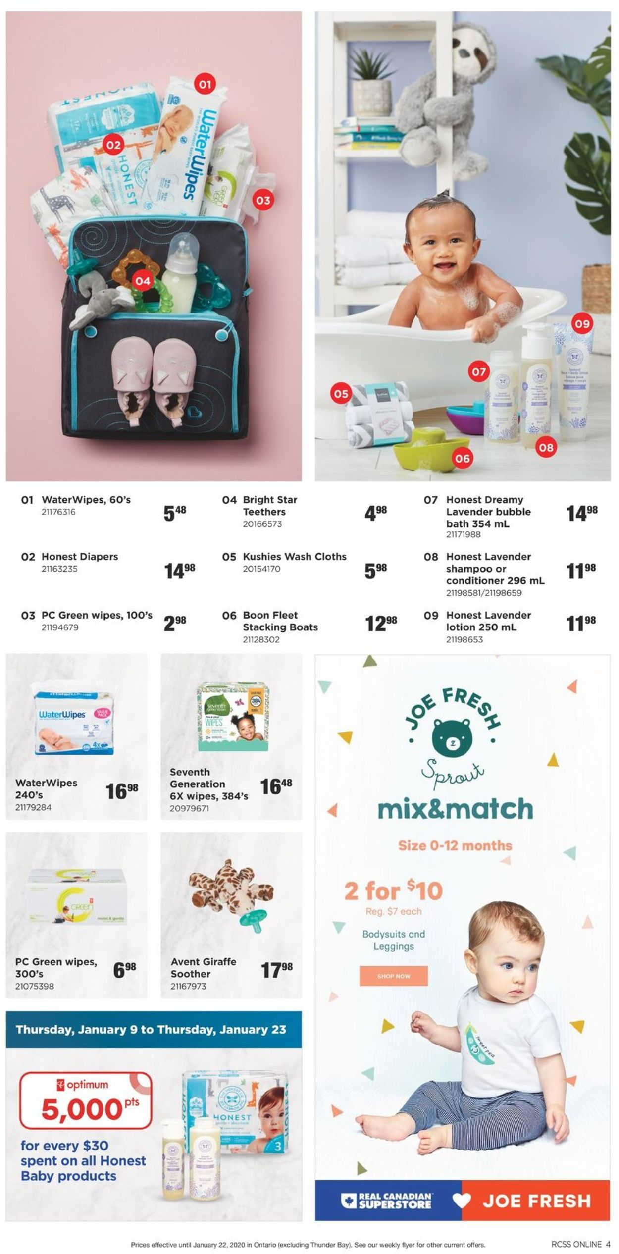 Real Canadian Superstore Flyer - 01/09-01/22/2020 (Page 4)