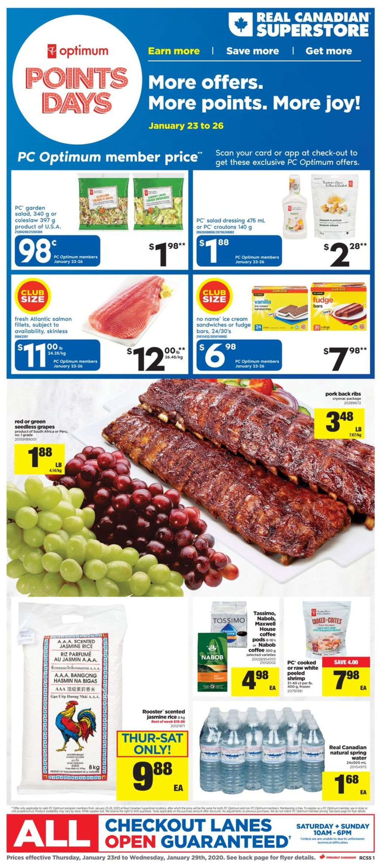Real Canadian Superstore Flyer - 01/23-01/29/2020