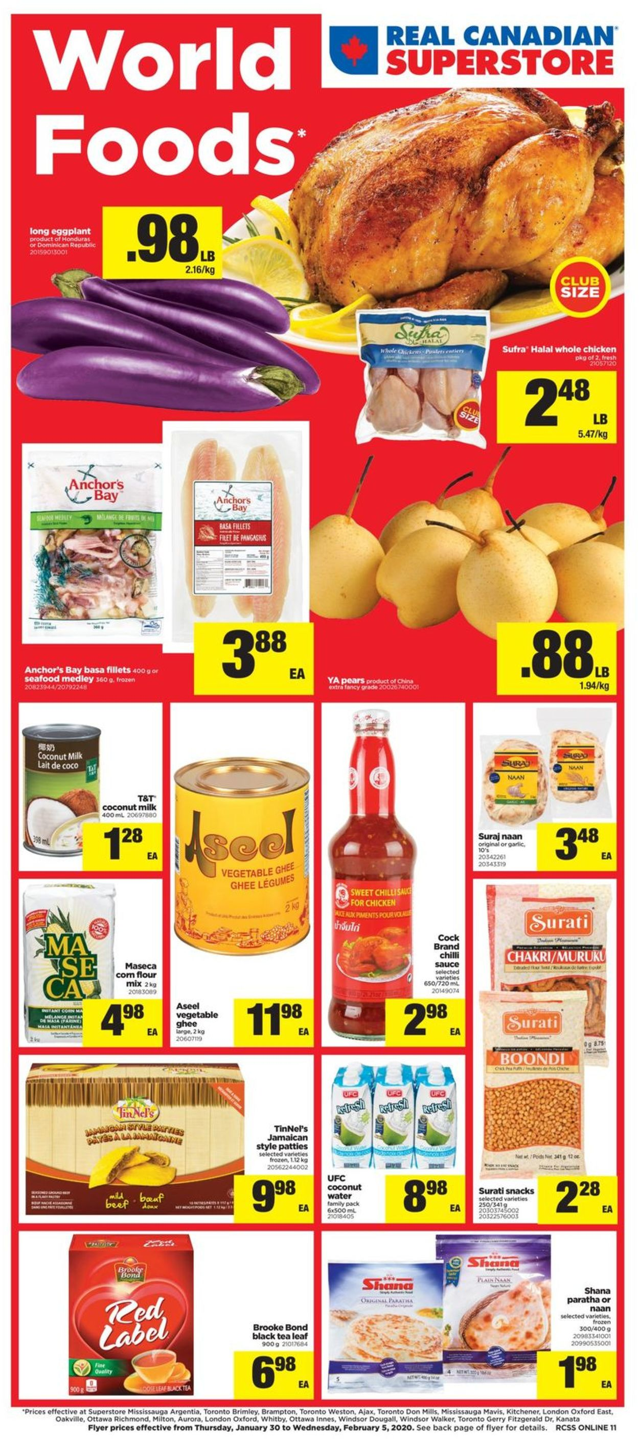 Real Canadian Superstore Flyer - 01/30-02/05/2020