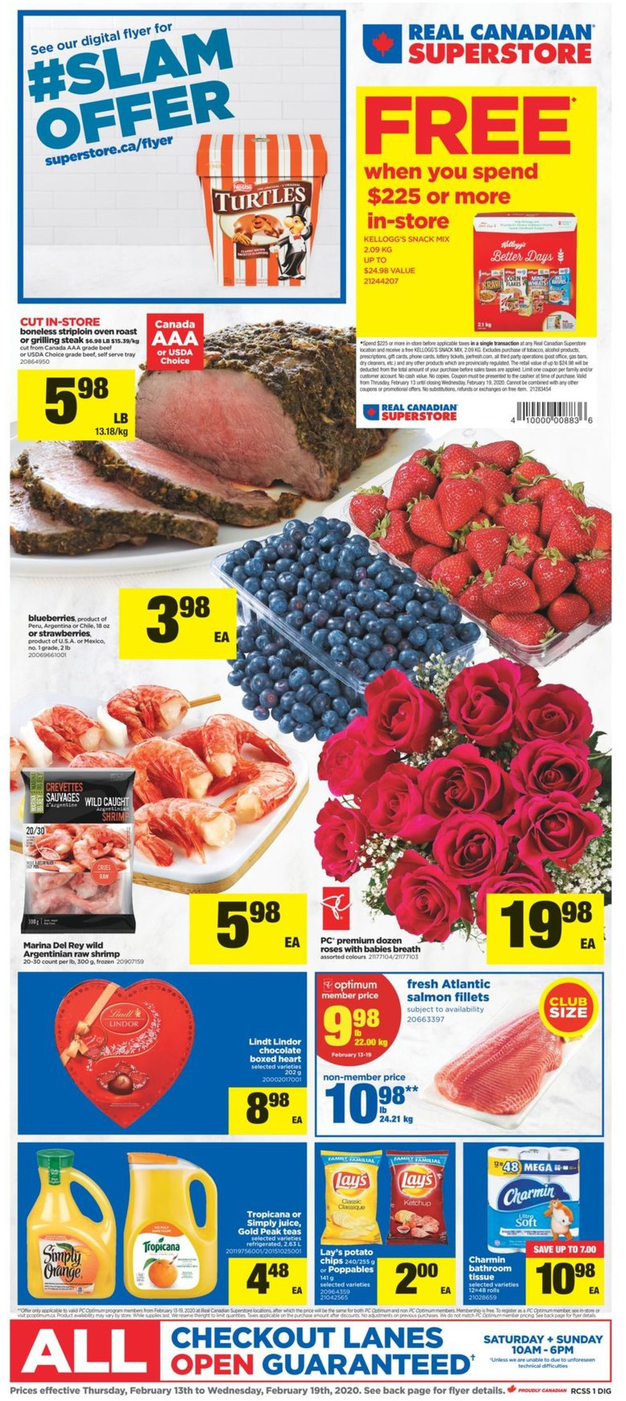 Real Canadian Superstore Flyer - 02/13-02/19/2020