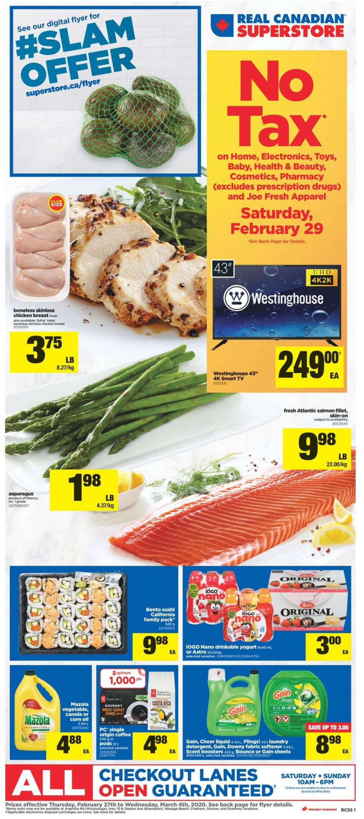 Real Canadian Superstore Flyer - 02/27-03/04/2020