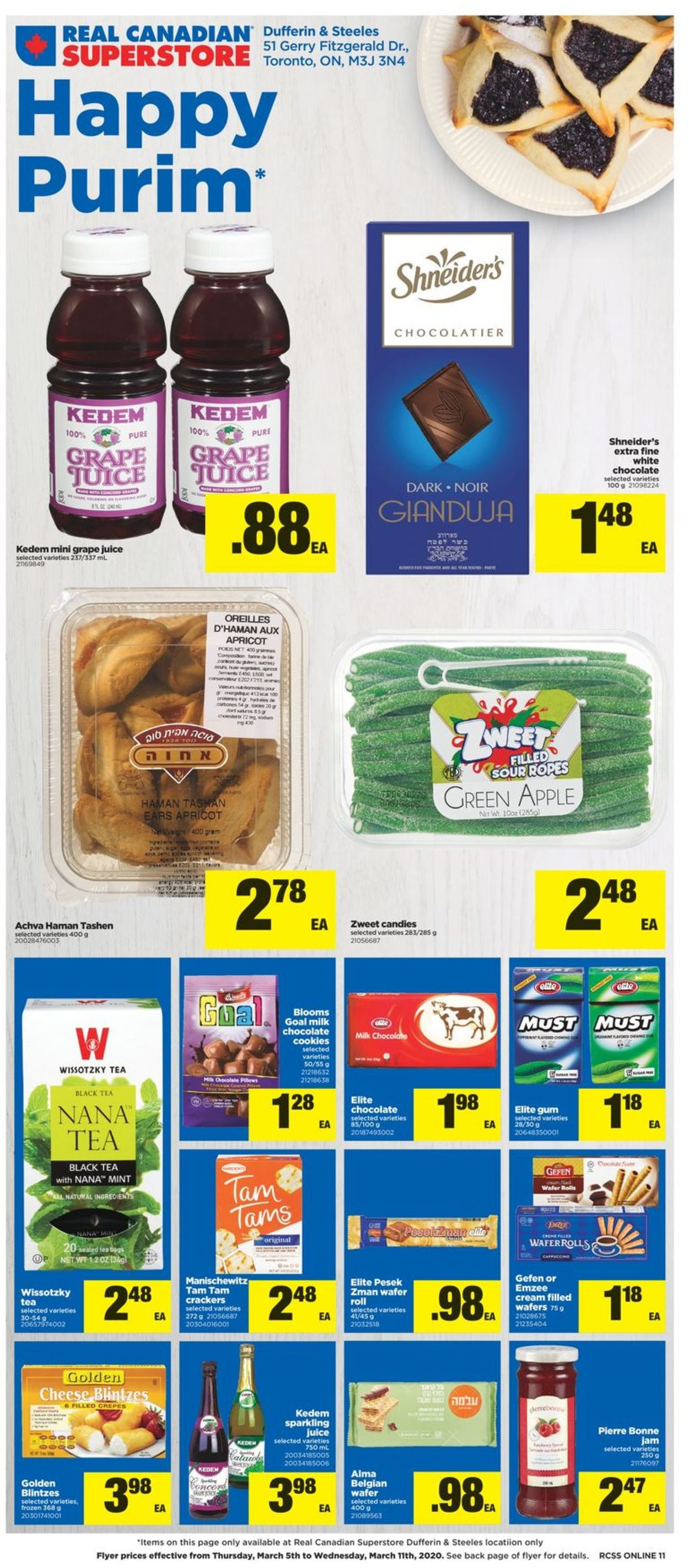 Real Canadian Superstore Flyer - 03/05-03/11/2020