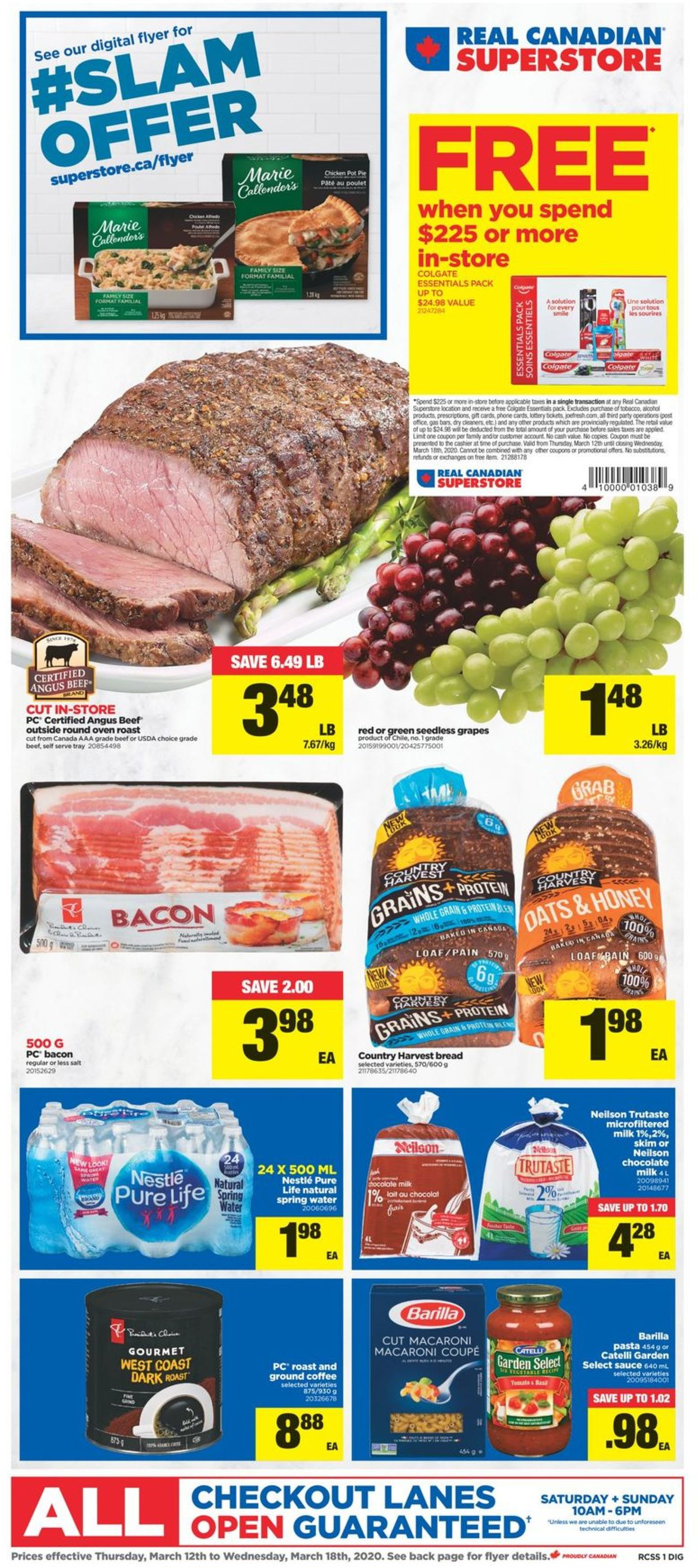 Real Canadian Superstore Flyer - 03/12-03/18/2020