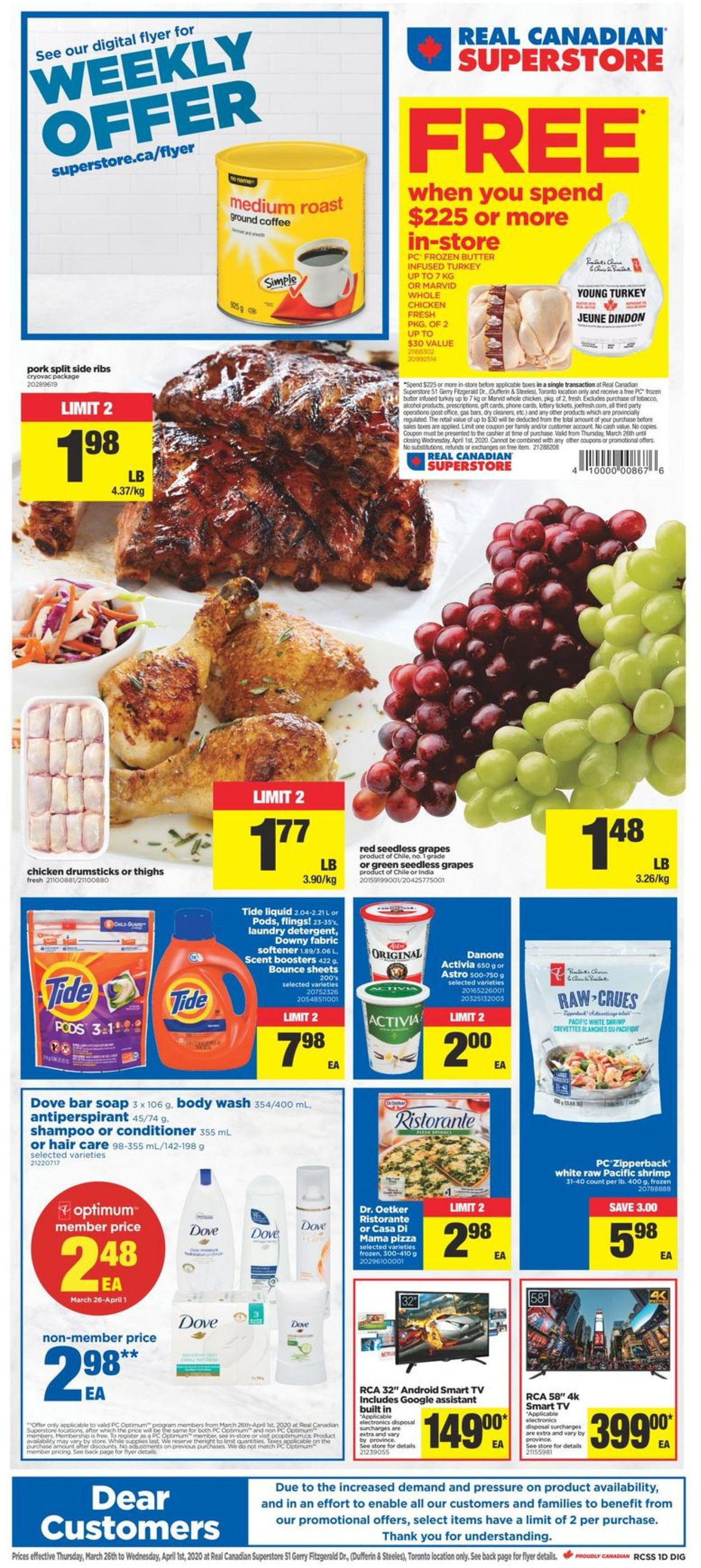Real Canadian Superstore Flyer - 03/26-04/01/2020