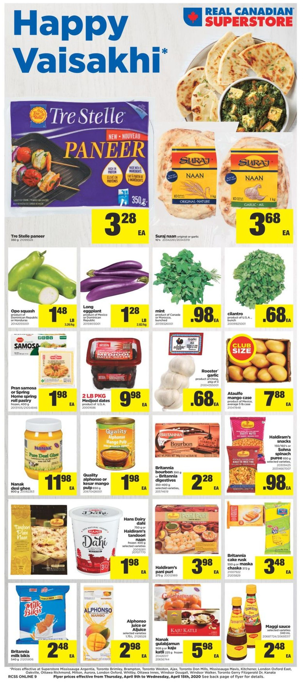 Real Canadian Superstore Flyer - 04/09-04/15/2020
