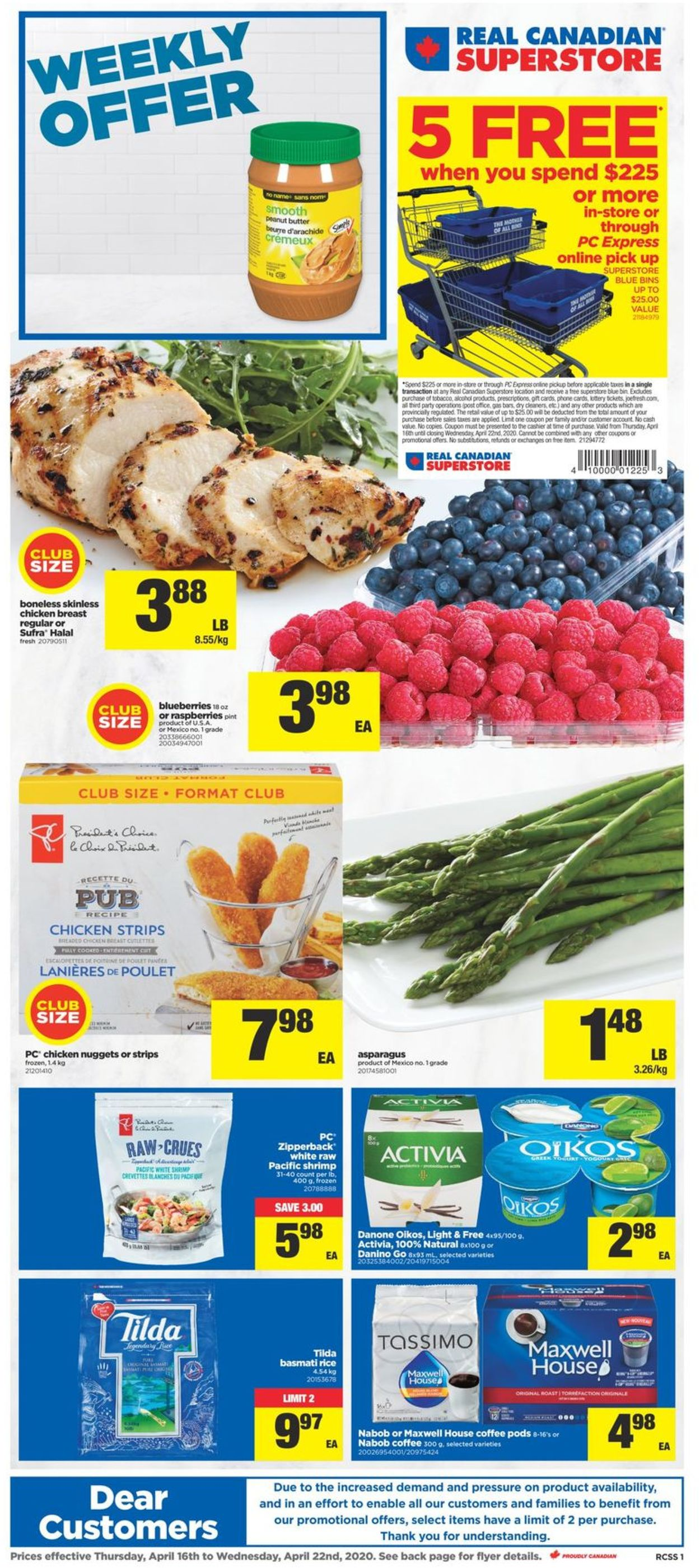 Real Canadian Superstore Flyer - 04/16-04/22/2020