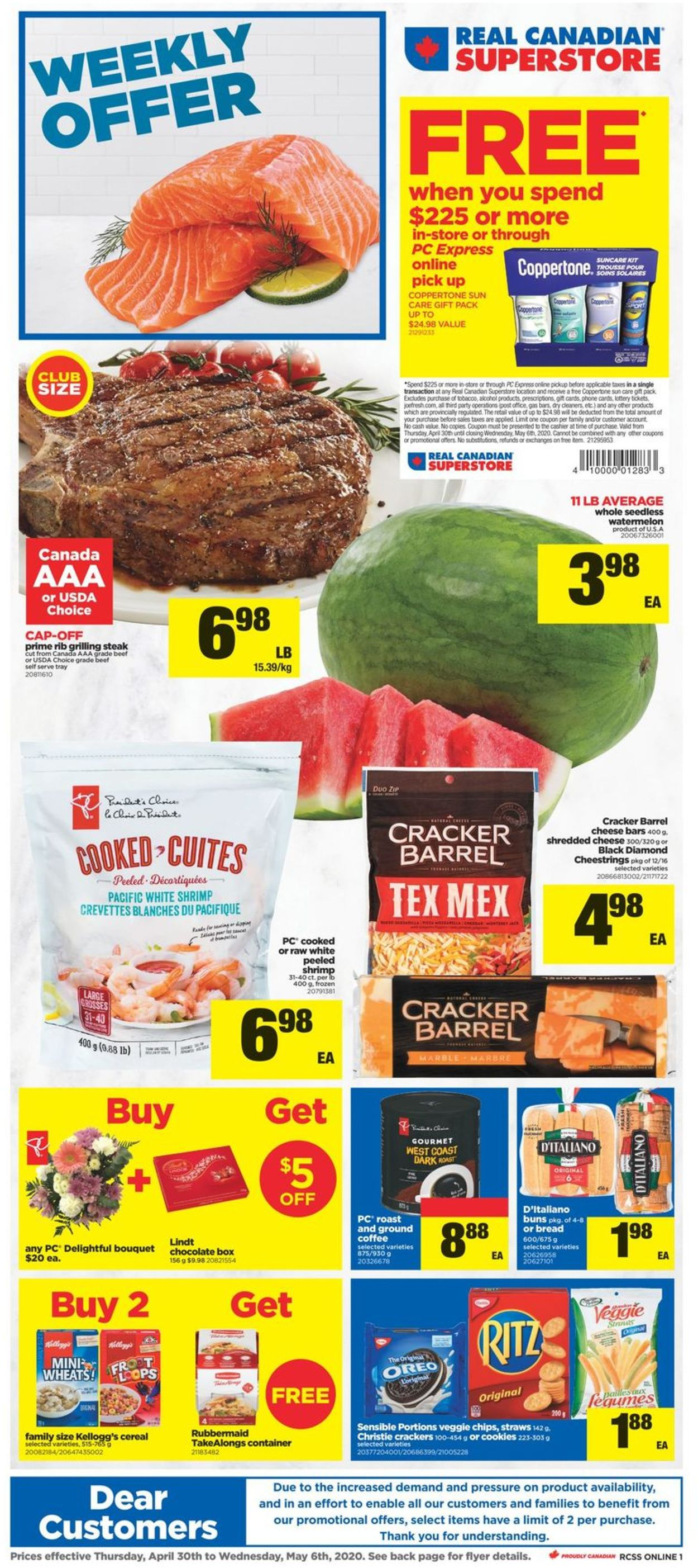 Real Canadian Superstore Flyer - 04/30-05/06/2020