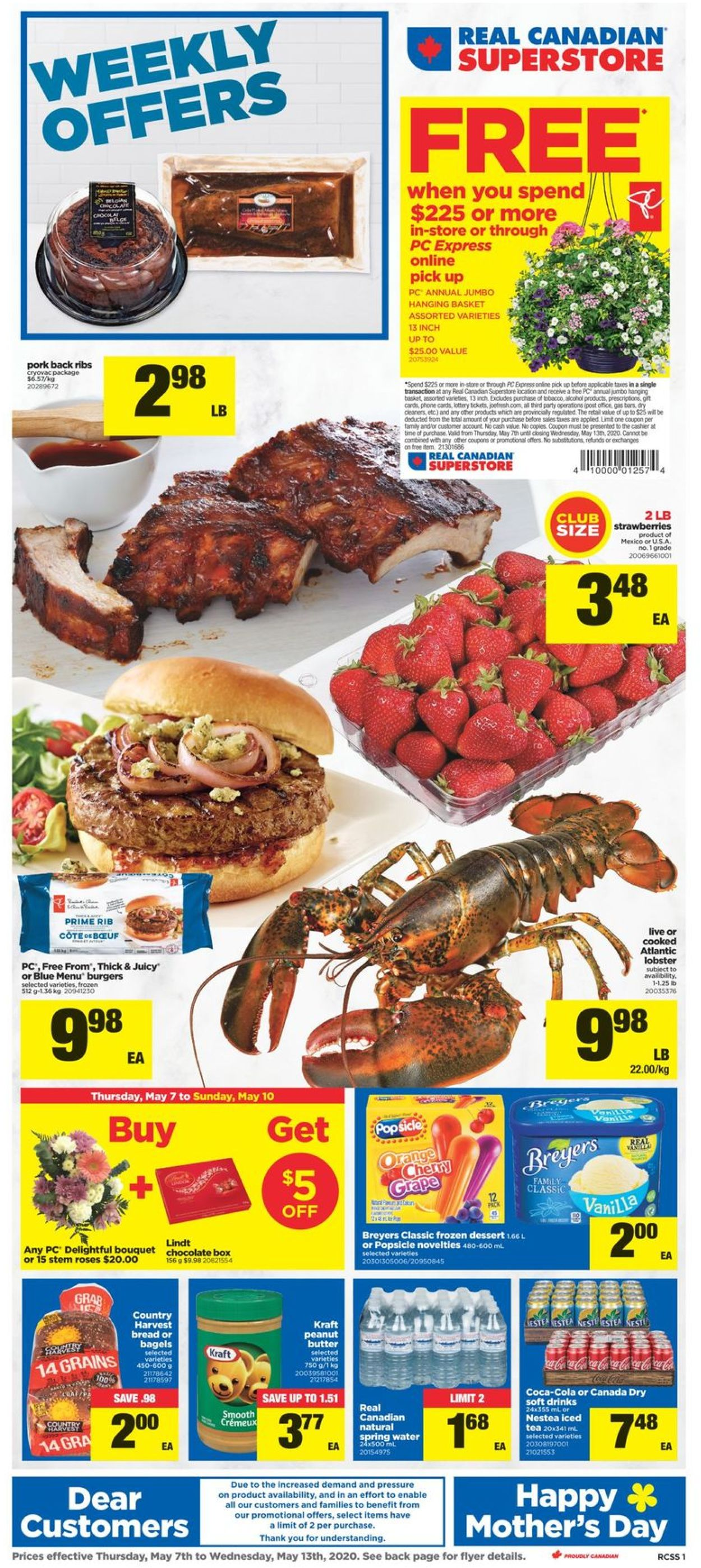 Real Canadian Superstore Flyer - 05/07-05/13/2020