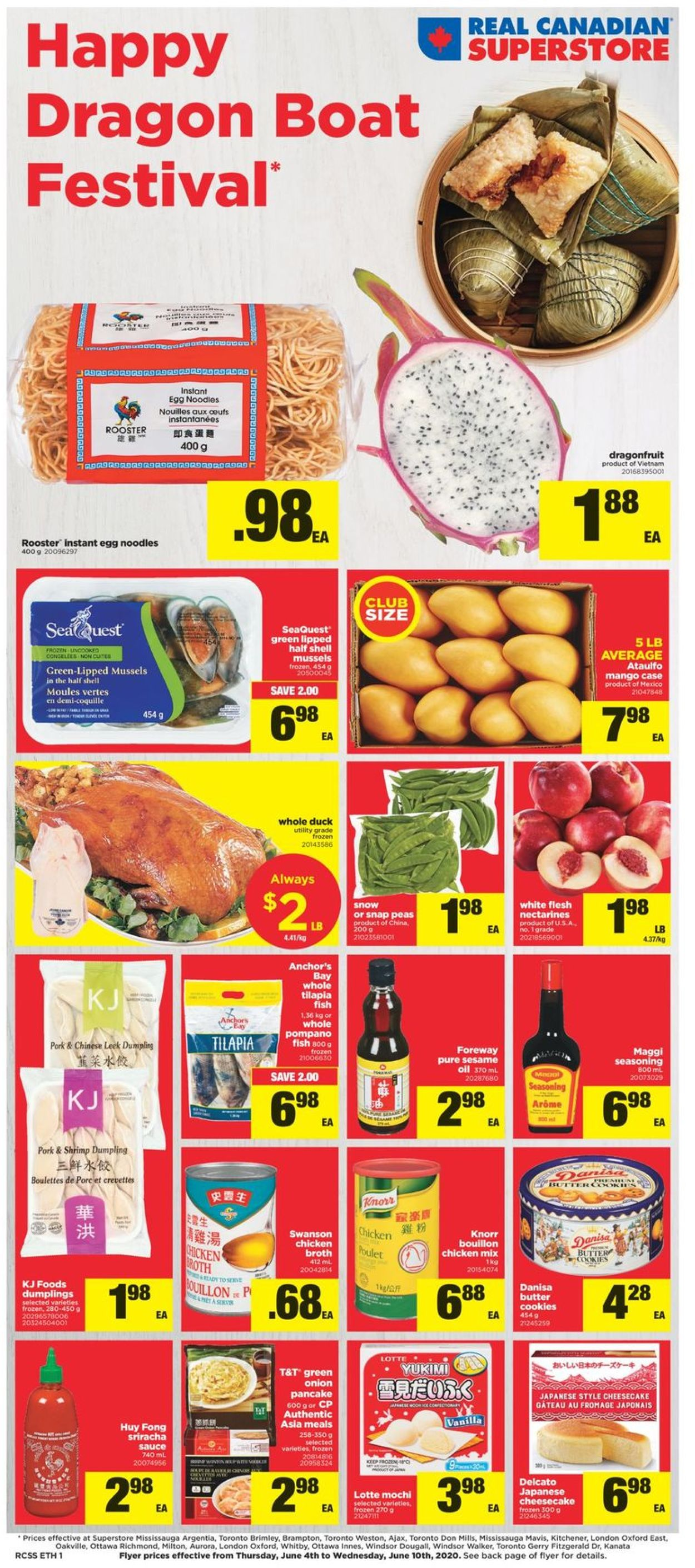 Real Canadian Superstore Flyer - 06/04-06/10/2020
