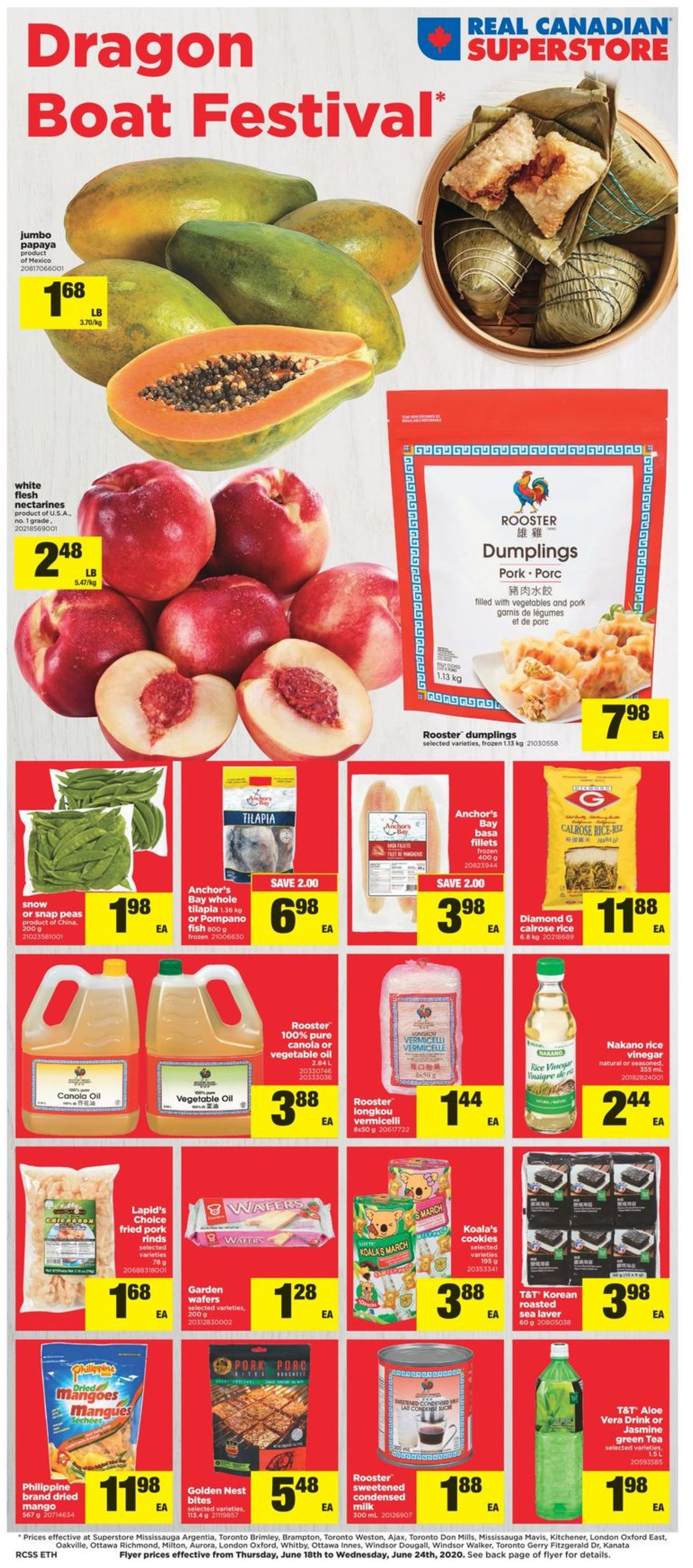 Real Canadian Superstore Flyer - 06/18-06/24/2020