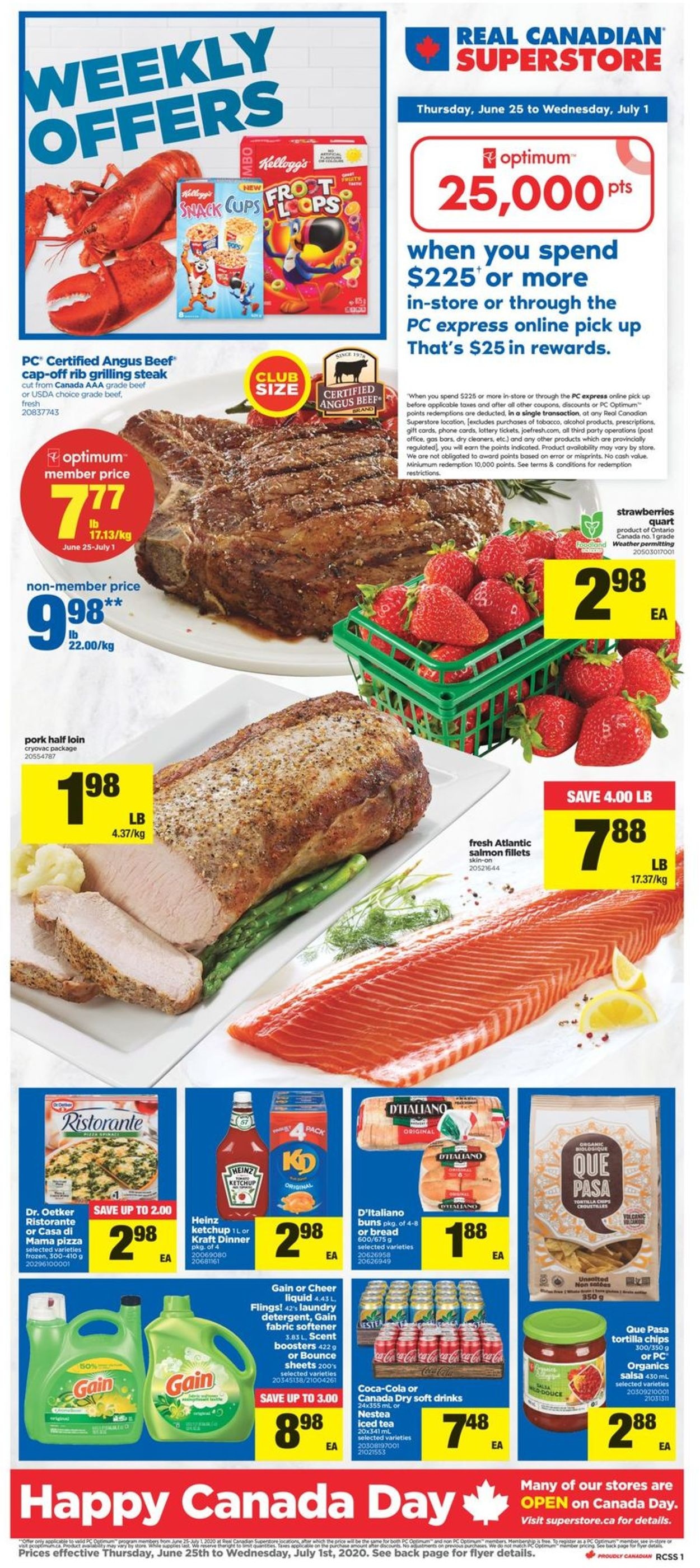 Real Canadian Superstore Flyer - 06/25-07/01/2020