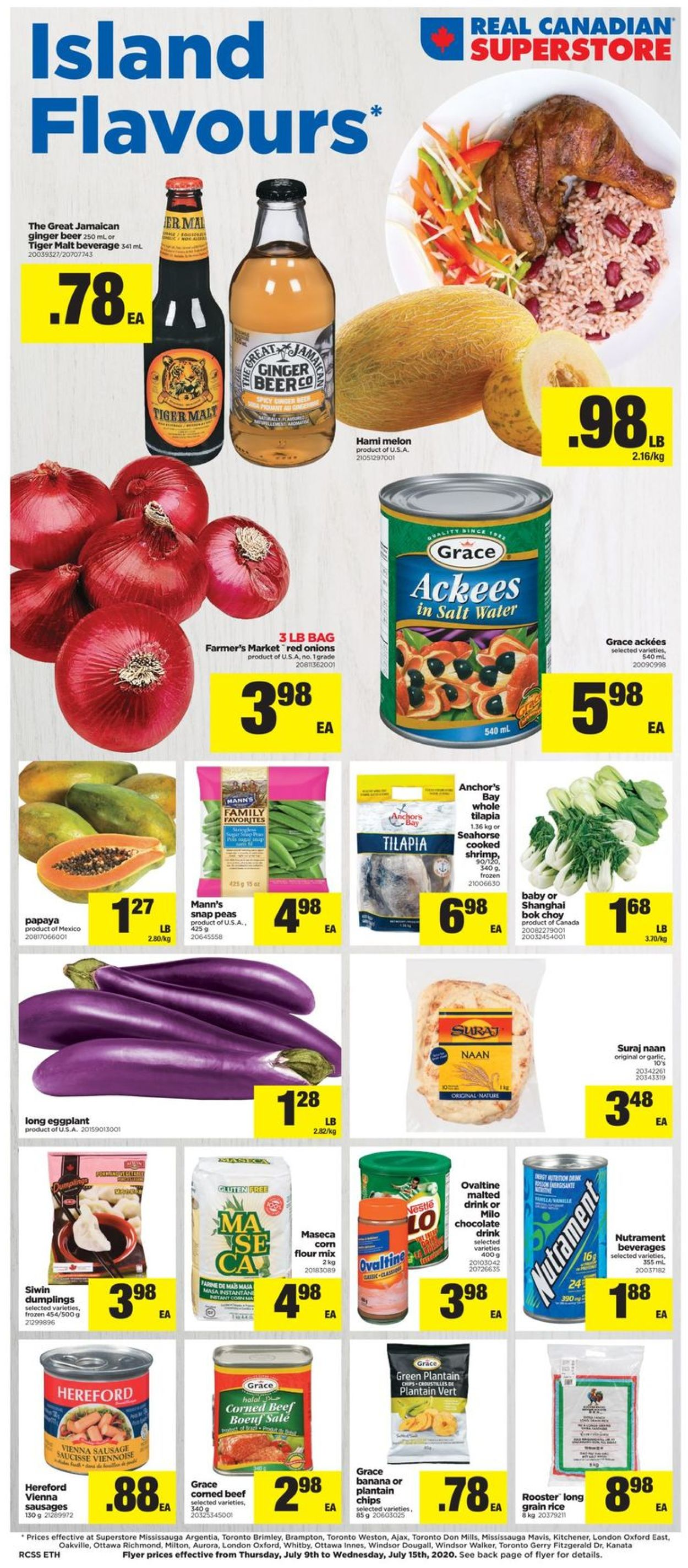 Real Canadian Superstore Flyer - 07/09-07/15/2020