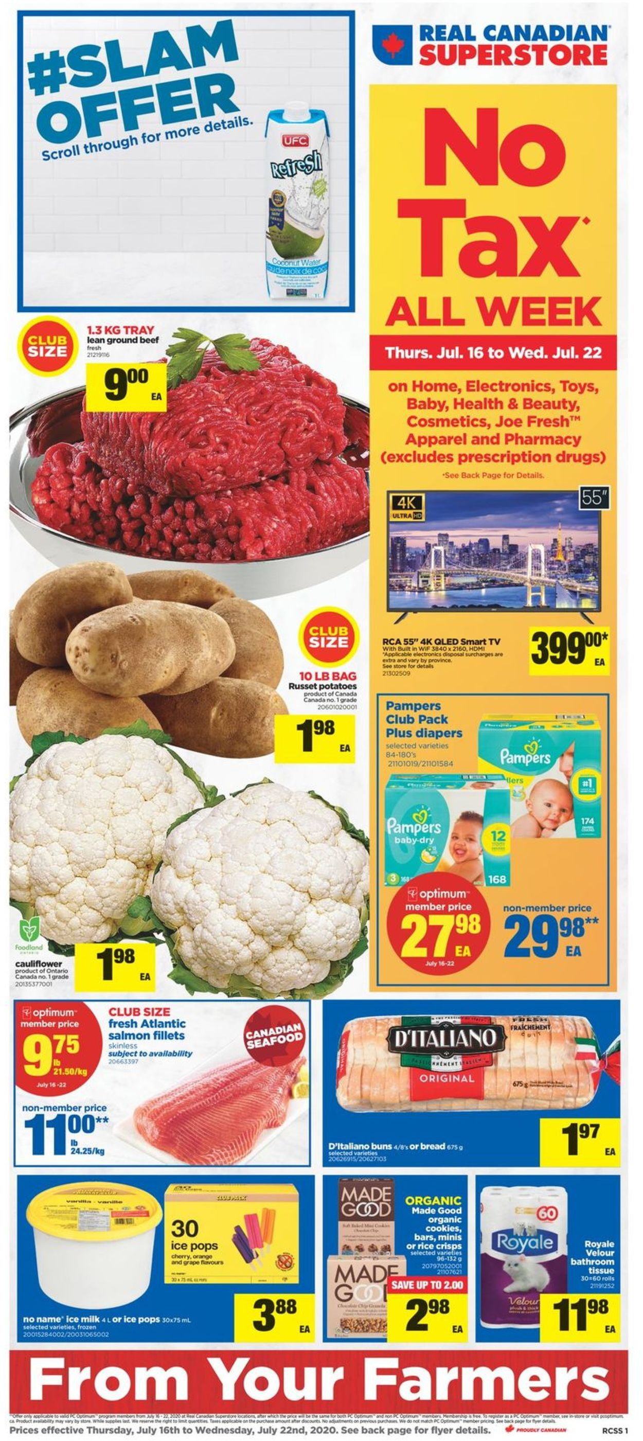 Real Canadian Superstore Flyer - 07/16-07/22/2020