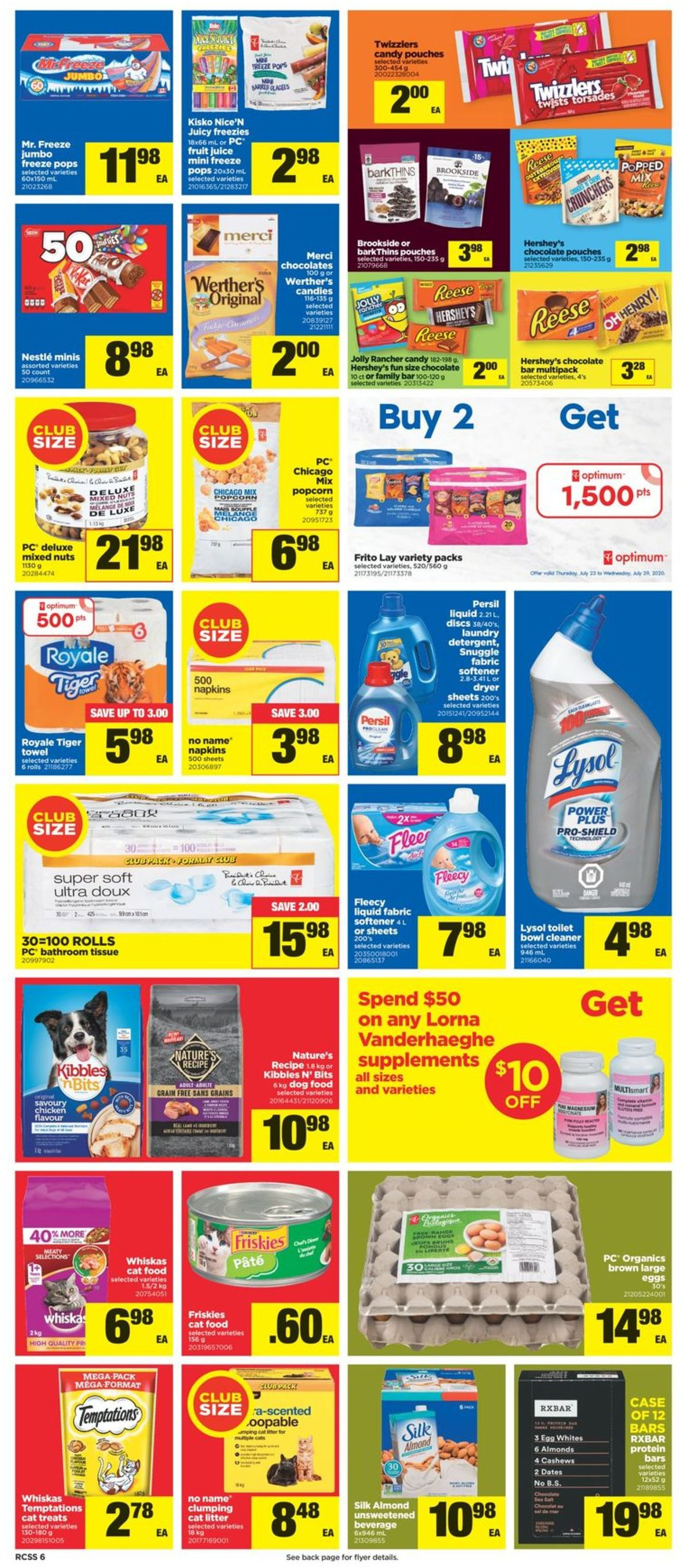 Real Canadian Superstore Flyer - 07/23-07/29/2020 (Page 6)