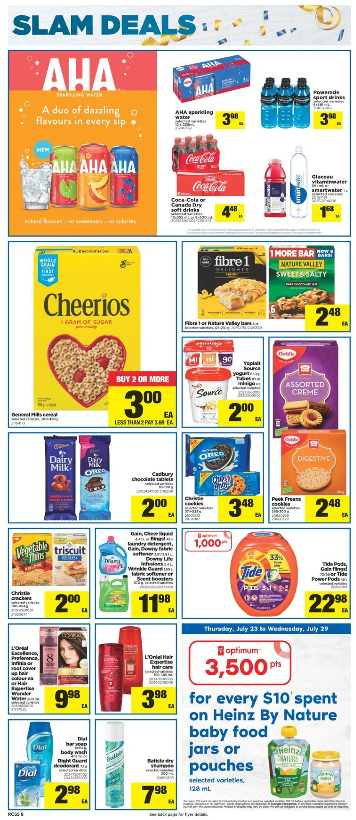 Real Canadian Superstore Flyer - 07/23-07/29/2020 (Page 8)