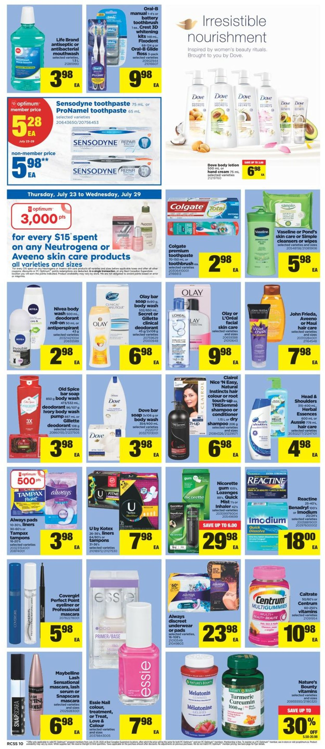 Real Canadian Superstore Flyer - 07/23-07/29/2020 (Page 10)