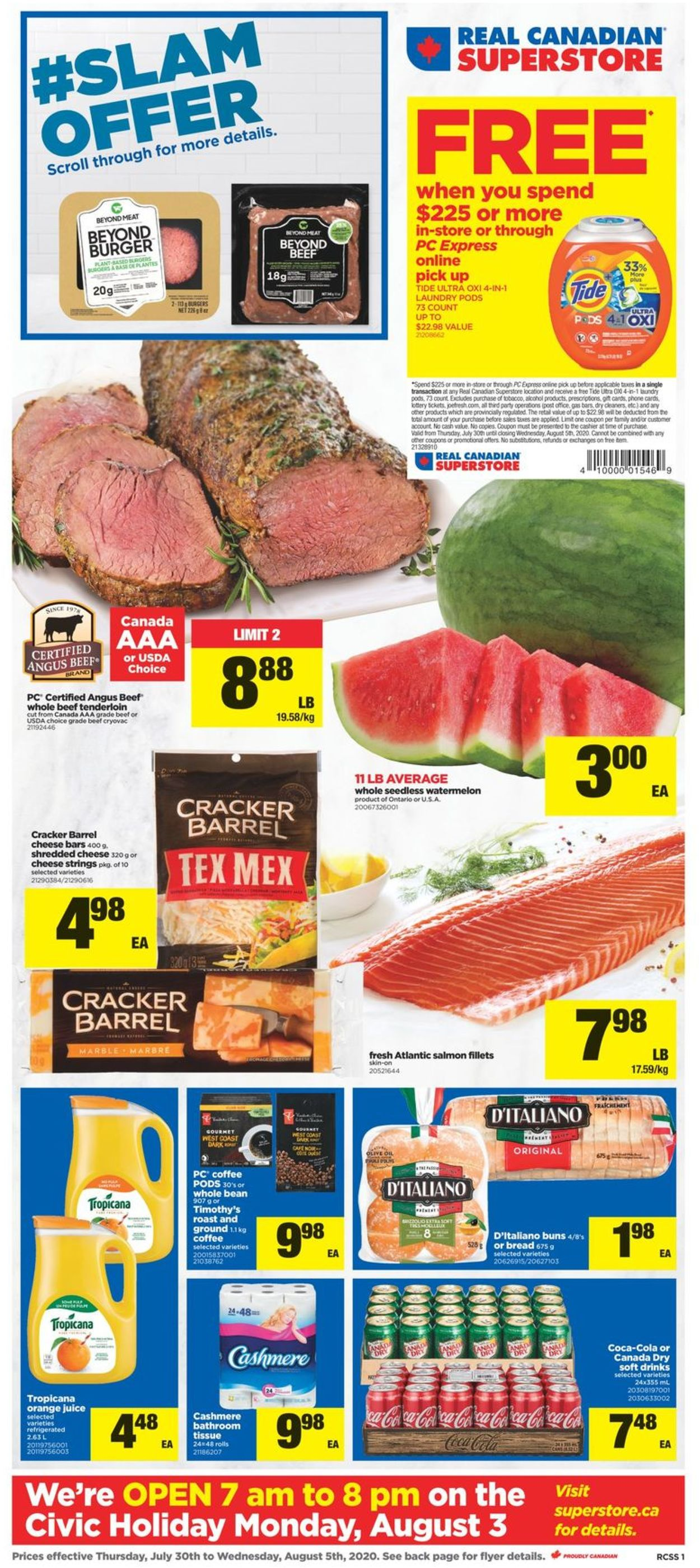 Real Canadian Superstore Flyer - 07/30-08/05/2020