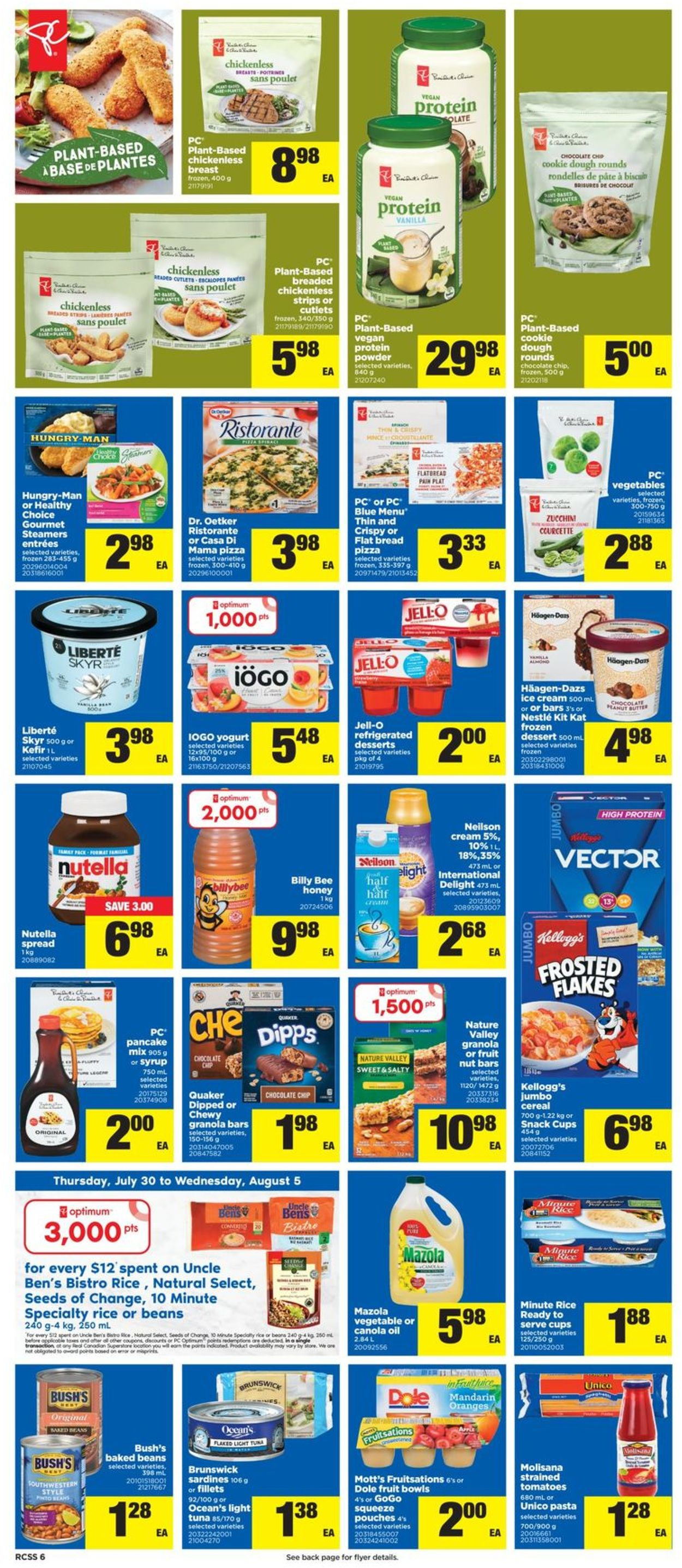 Real Canadian Superstore Flyer - 07/30-08/05/2020 (Page 6)