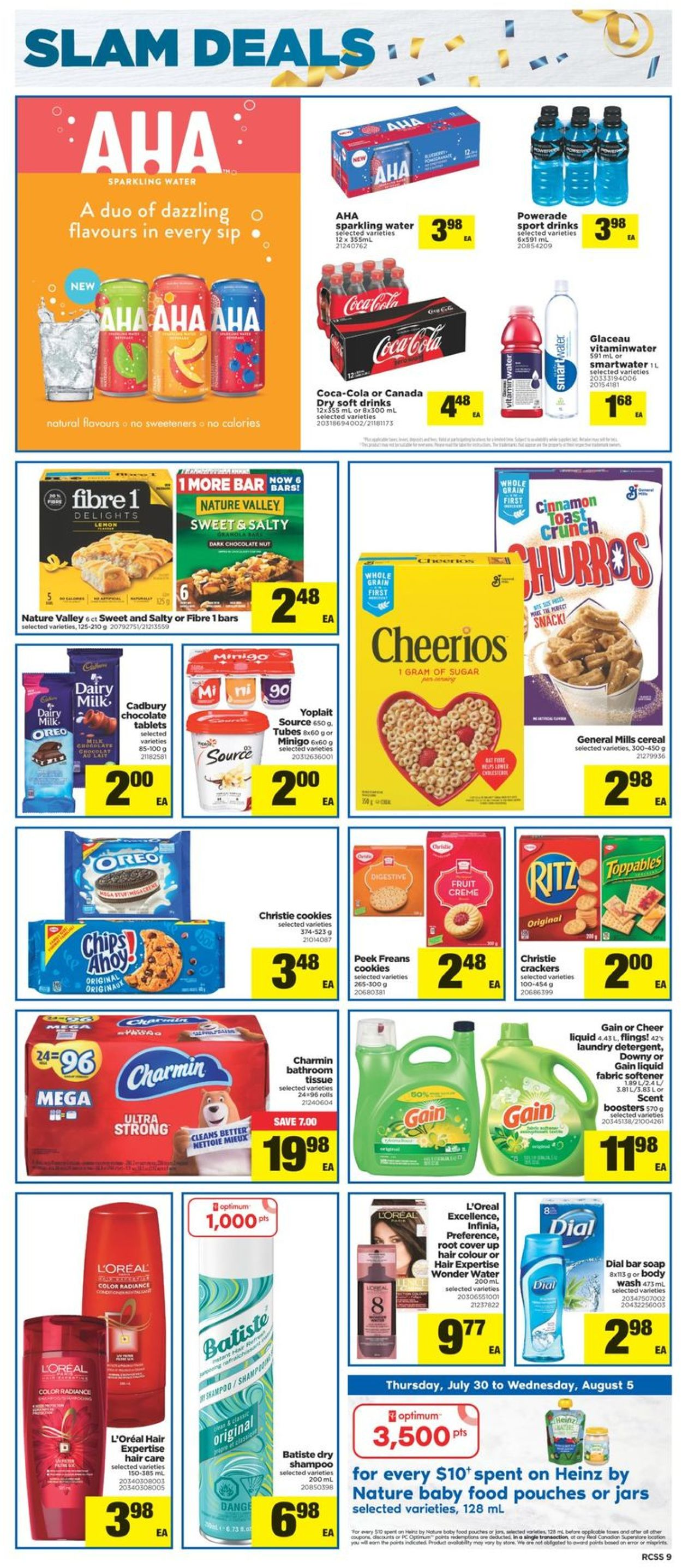 Real Canadian Superstore Flyer - 07/30-08/05/2020 (Page 9)