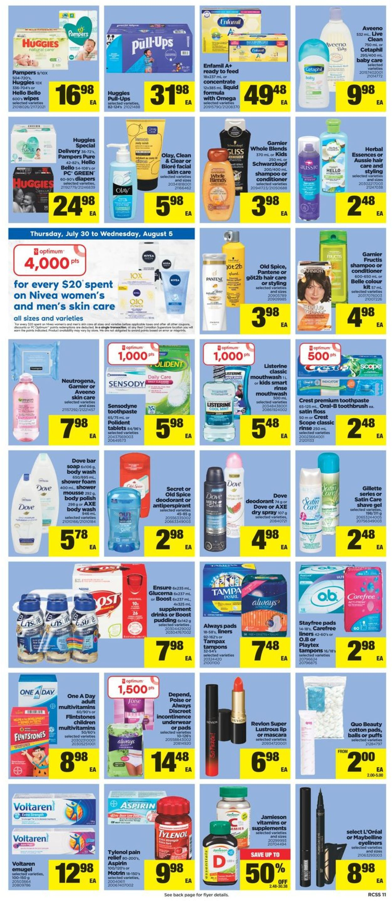Real Canadian Superstore Flyer - 07/30-08/05/2020 (Page 11)
