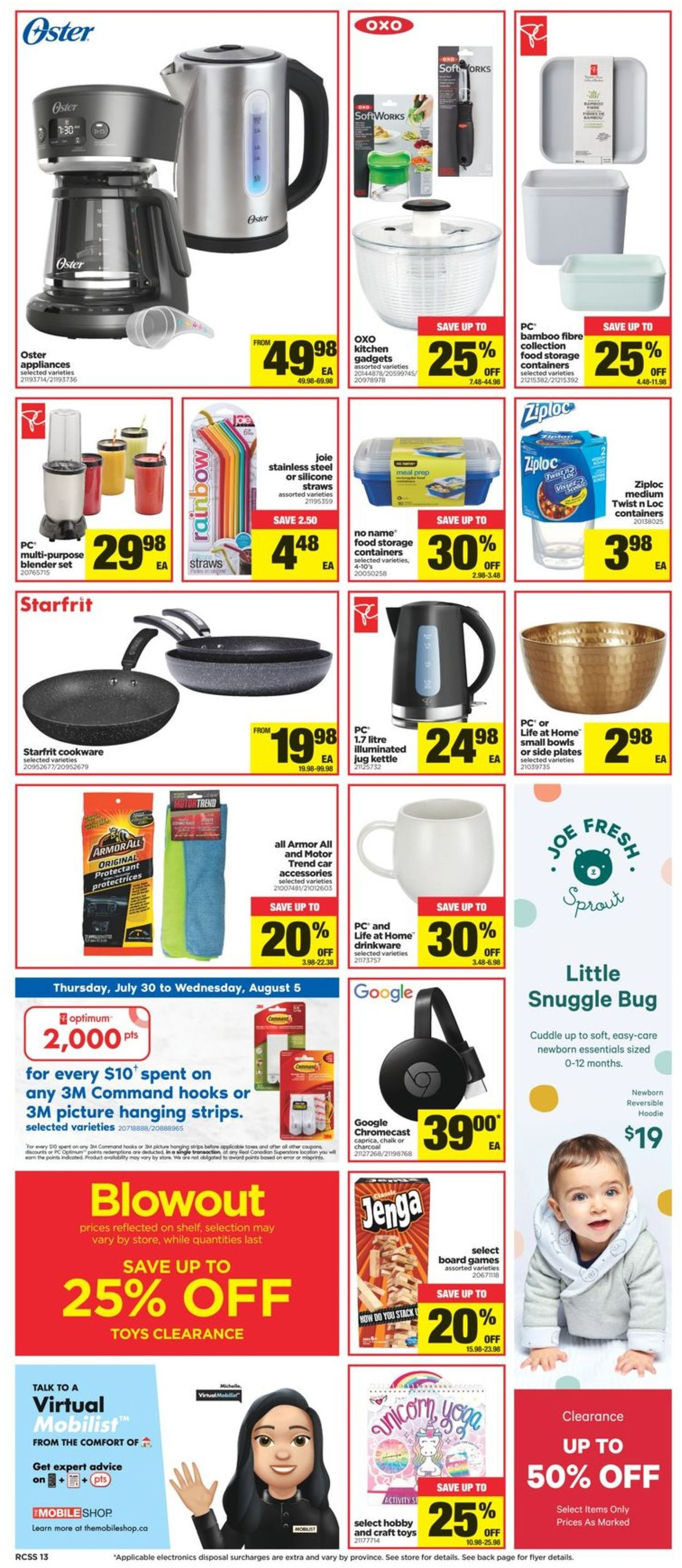 Real Canadian Superstore Flyer - 07/30-08/05/2020 (Page 13)