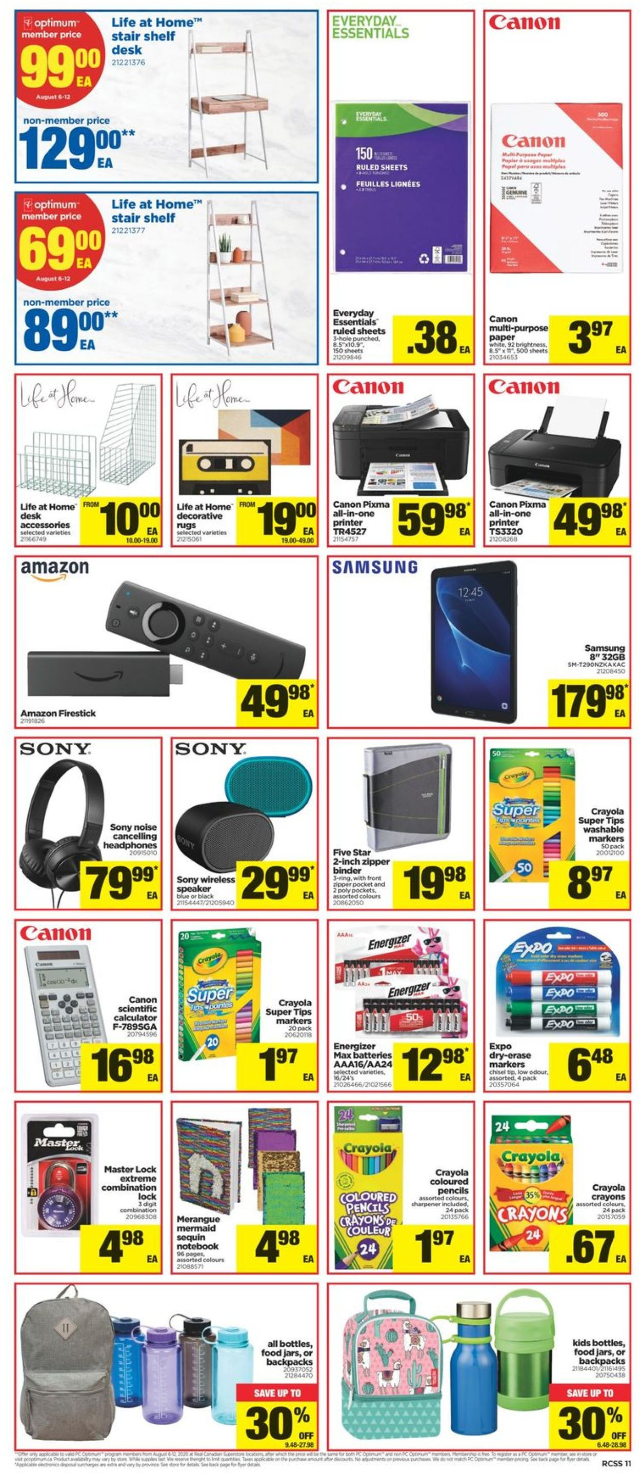 Real Canadian Superstore Flyer - 08/06-08/12/2020 (Page 11)