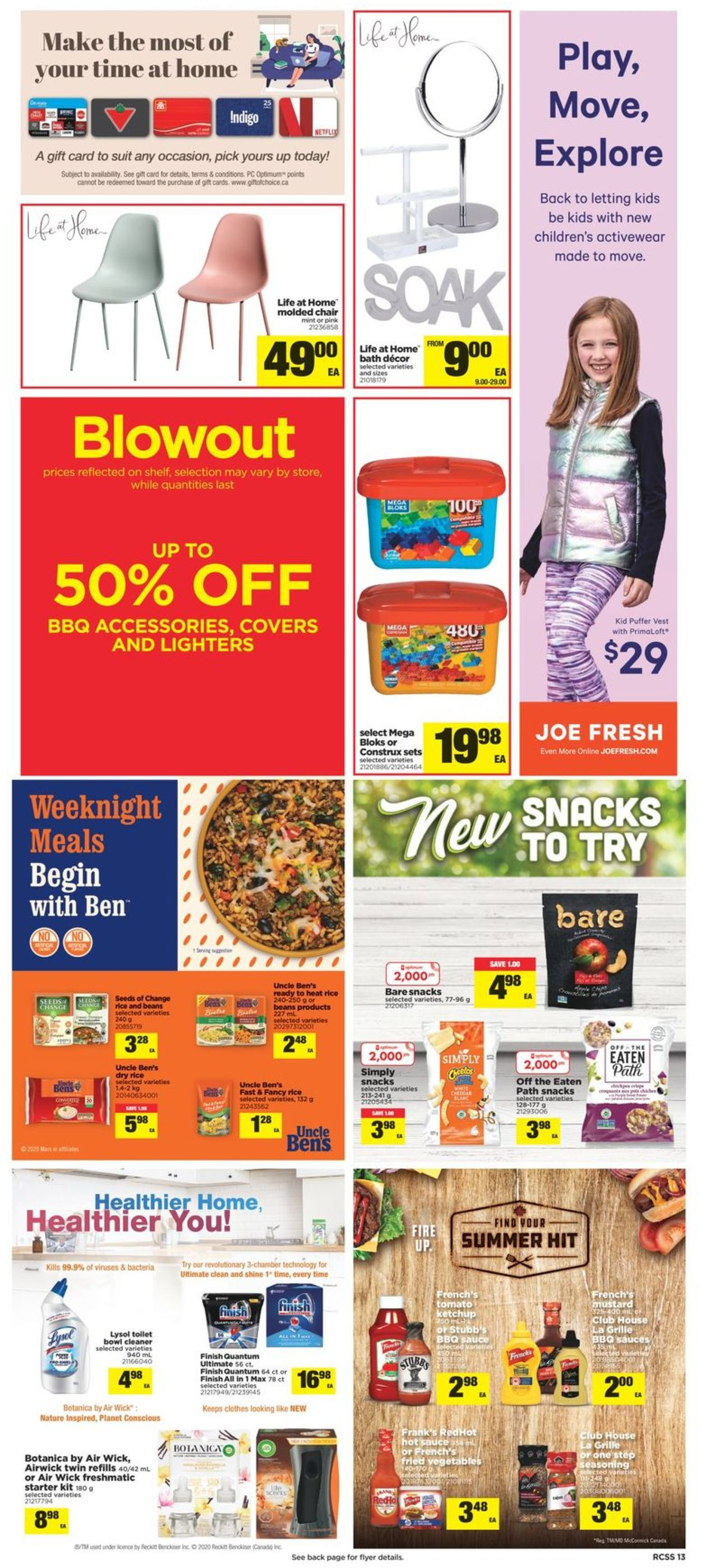 Real Canadian Superstore Flyer - 08/06-08/12/2020 (Page 13)