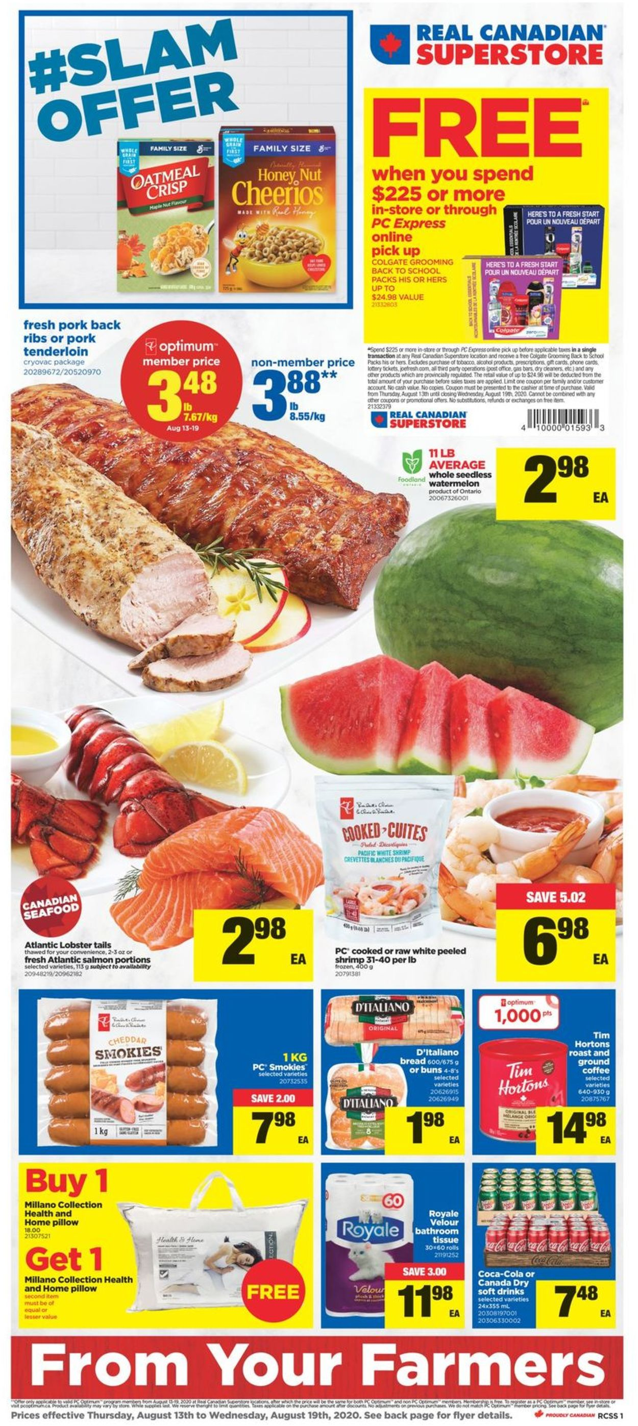 Real Canadian Superstore Flyer - 08/13-08/19/2020