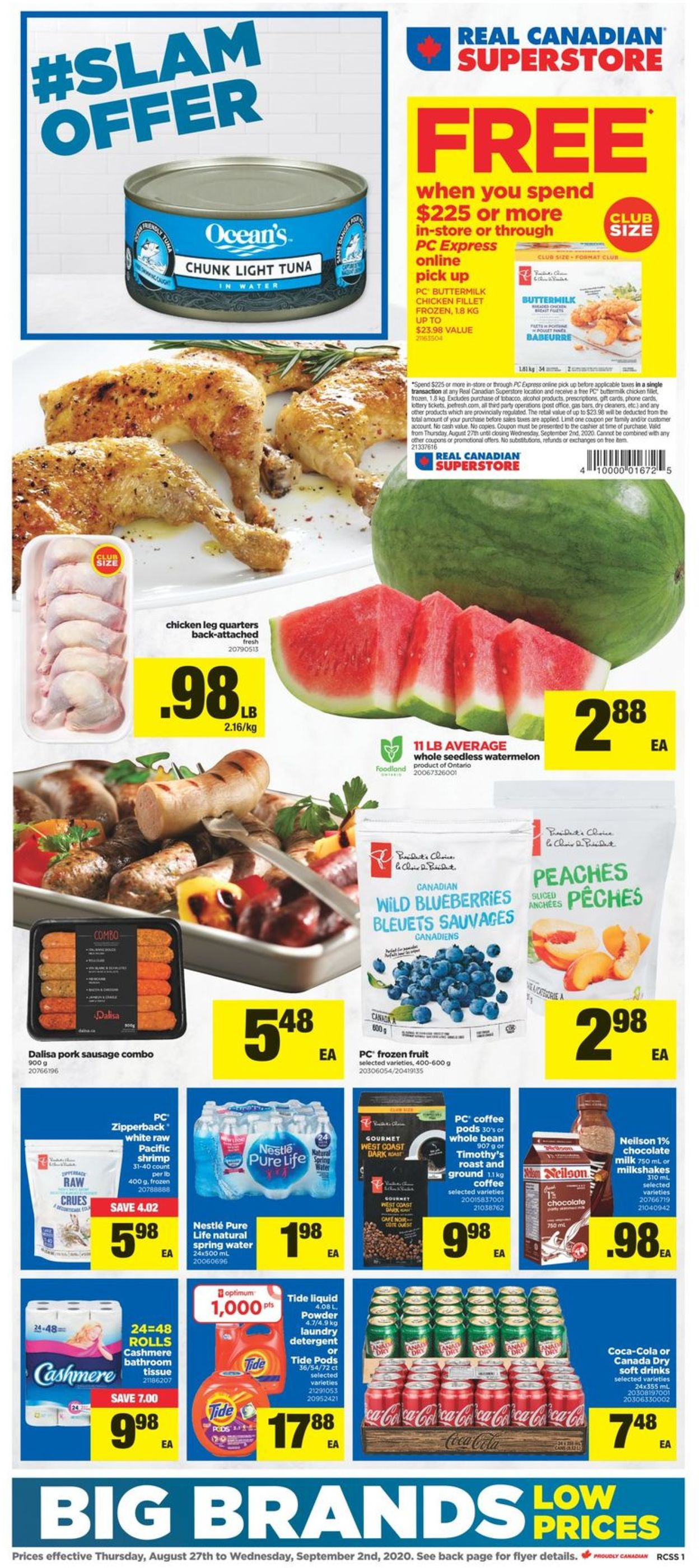 Real Canadian Superstore Flyer - 08/27-09/02/2020