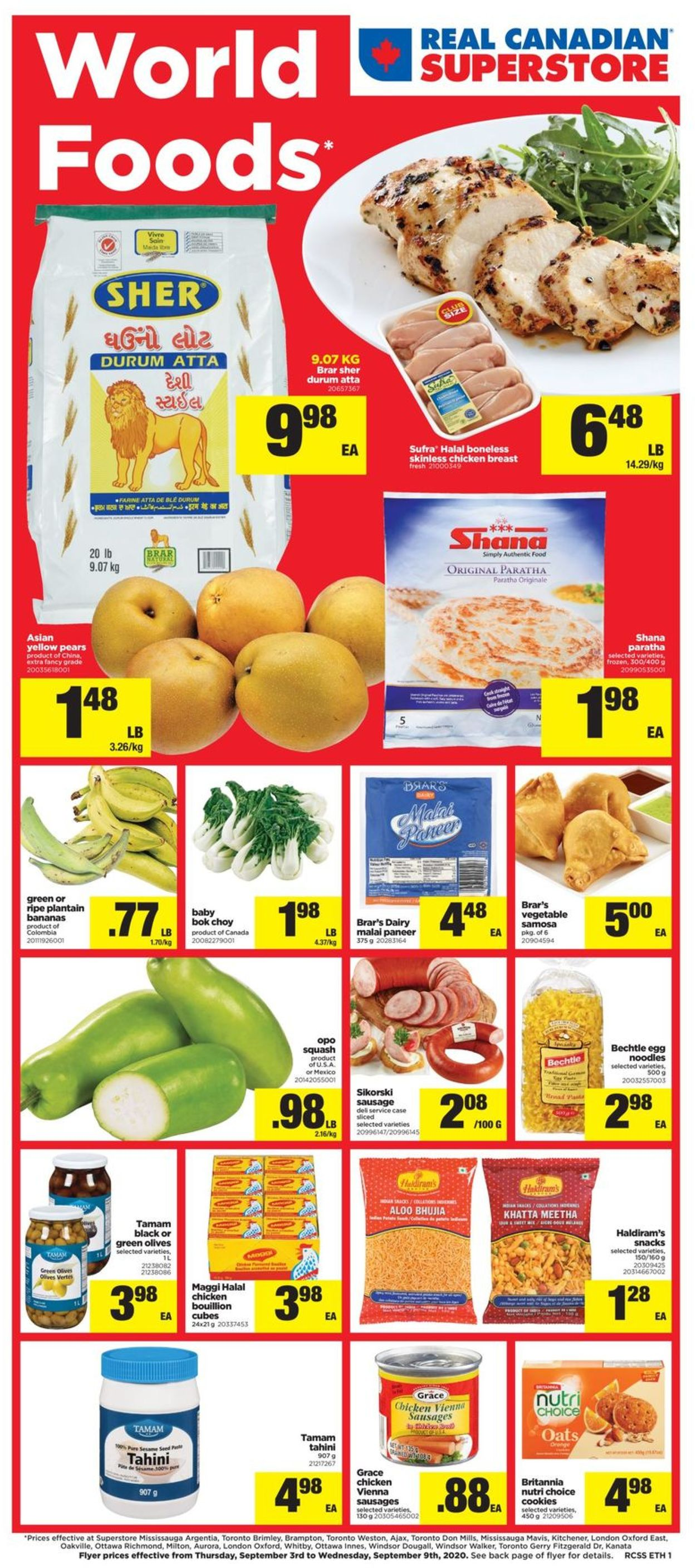 Real Canadian Superstore Flyer - 09/03-09/09/2020