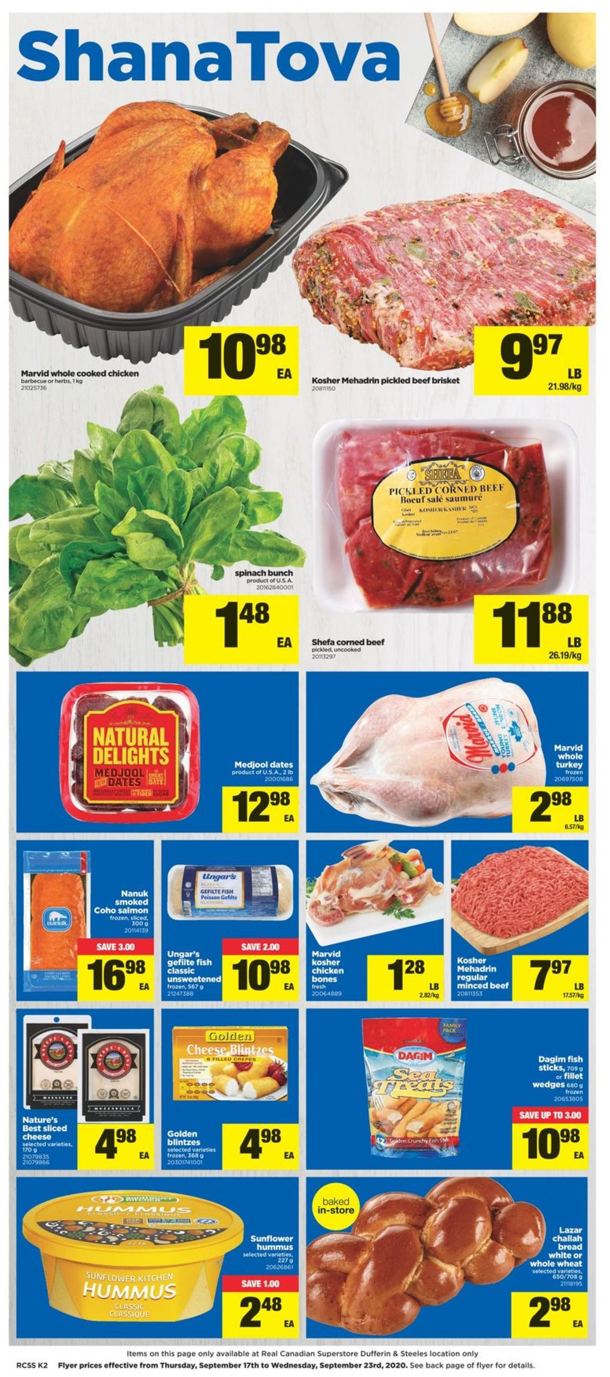 Real Canadian Superstore Flyer - 09/17-09/23/2020 (Page 2)