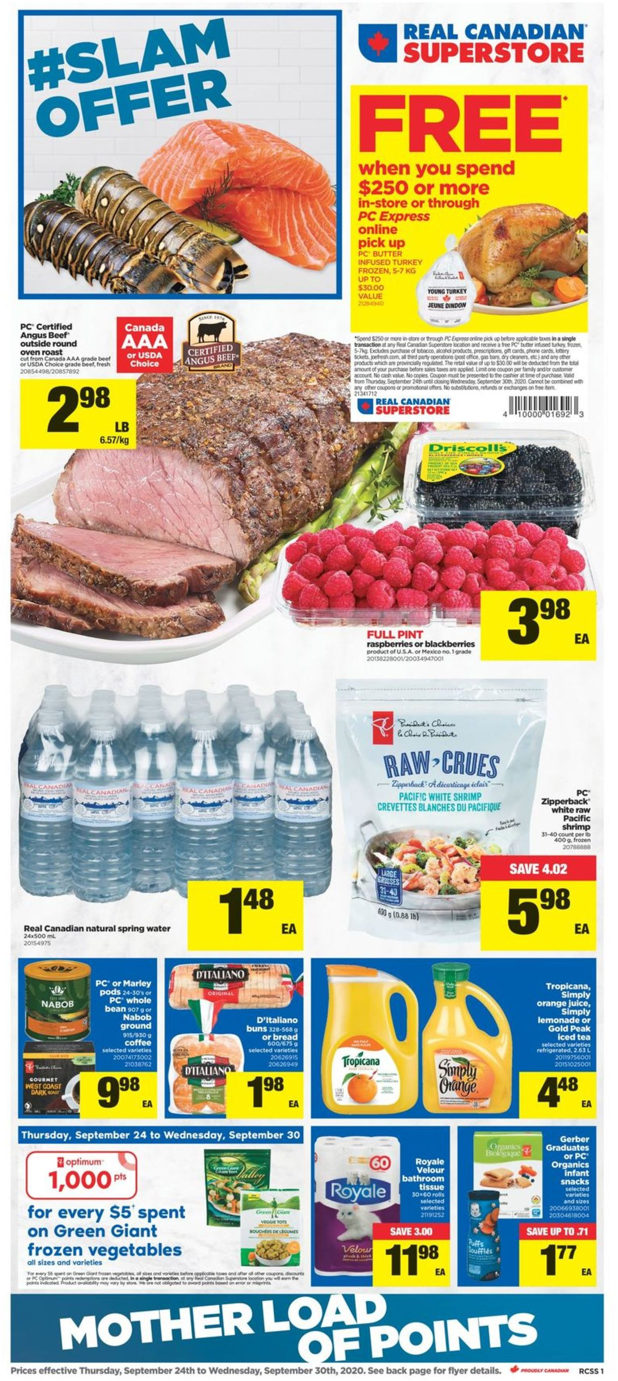 Real Canadian Superstore Flyer - 09/24-09/30/2020