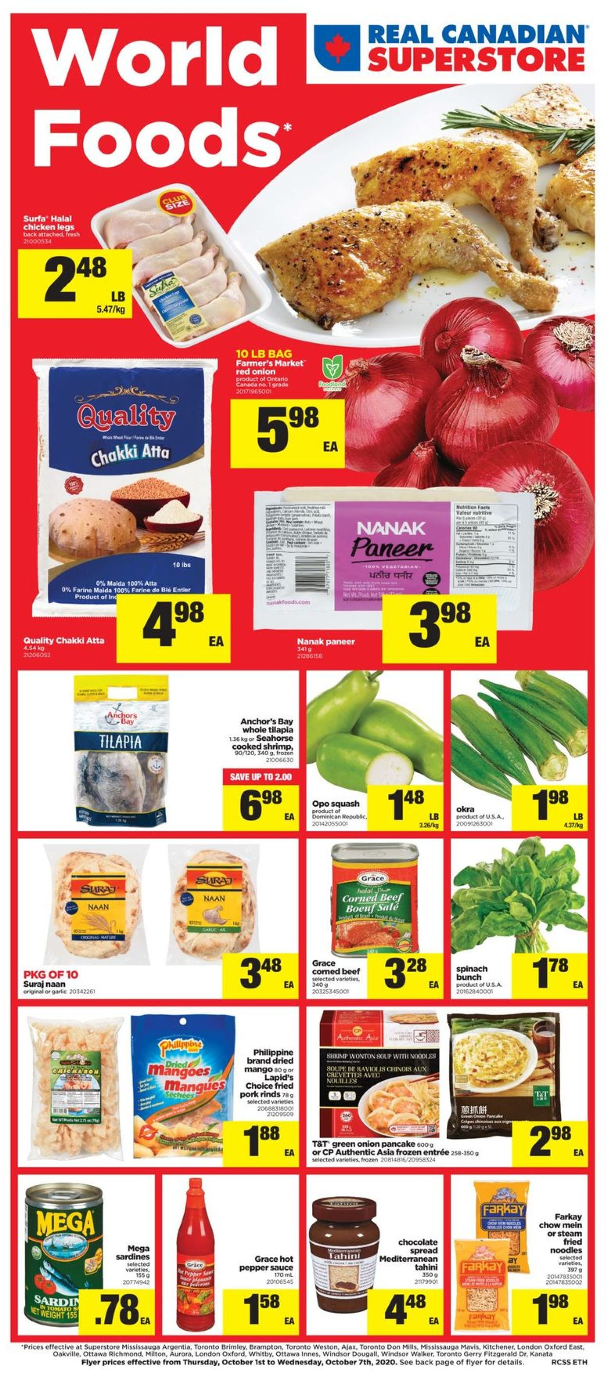Real Canadian Superstore Flyer - 10/01-10/07/2020