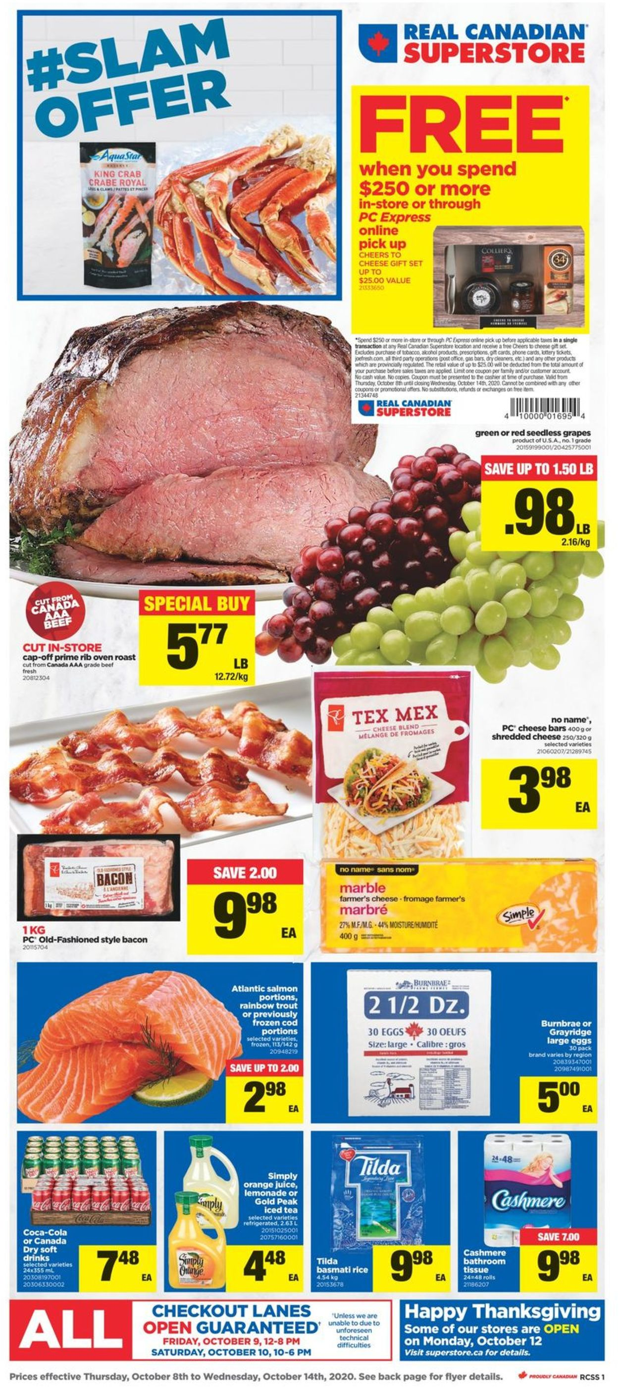 Real Canadian Superstore Flyer - 10/08-10/14/2020