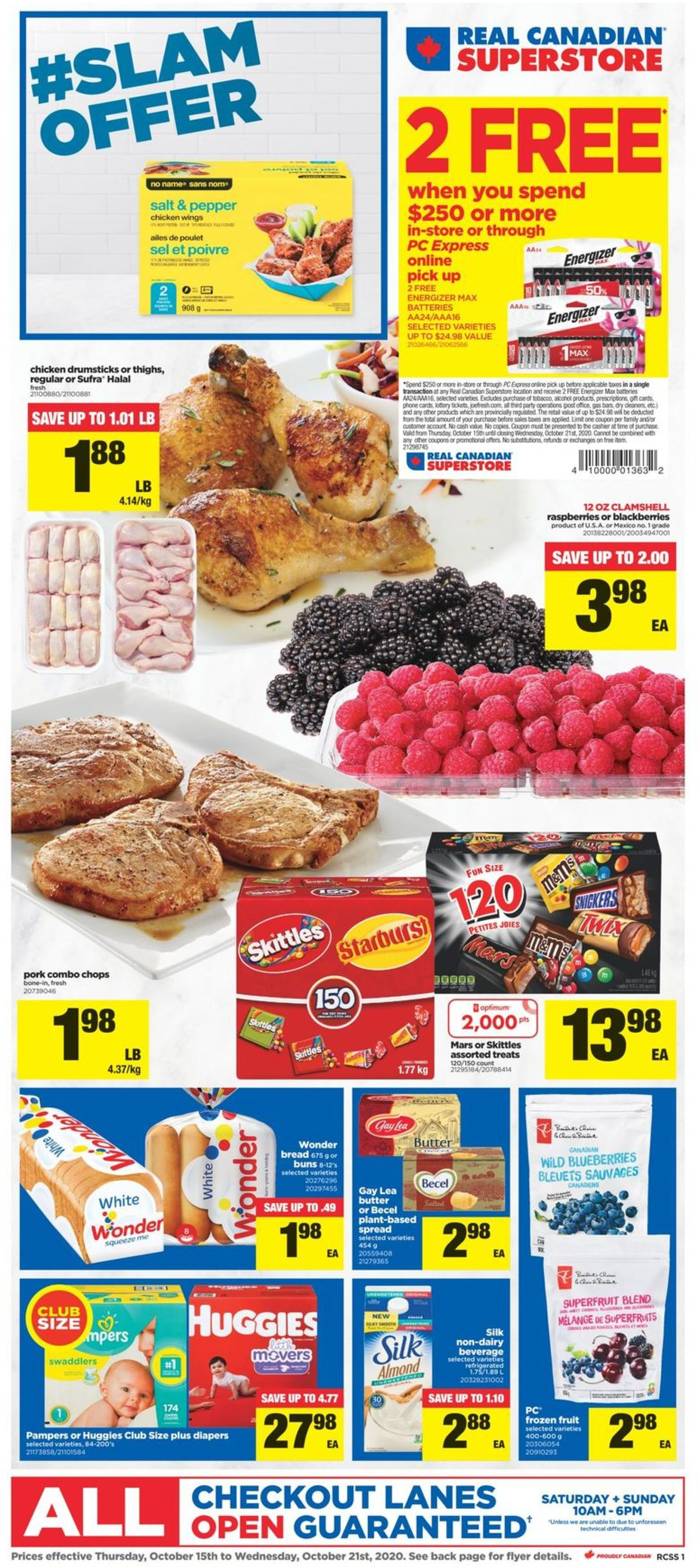 Real Canadian Superstore Flyer - 10/15-10/21/2020