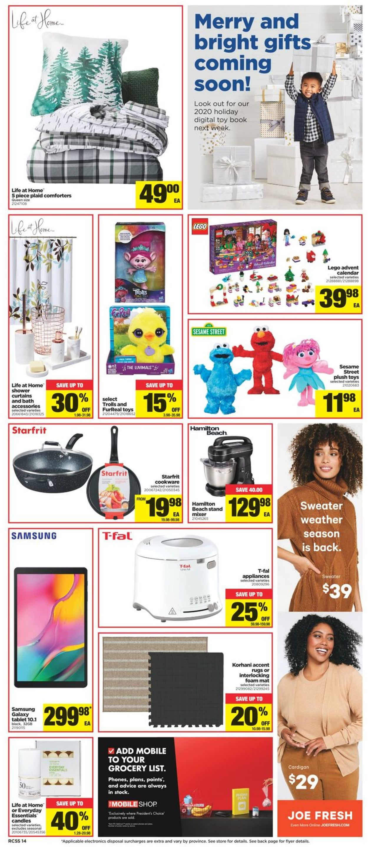 Real Canadian Superstore Flyer - 10/15-10/21/2020 (Page 14)