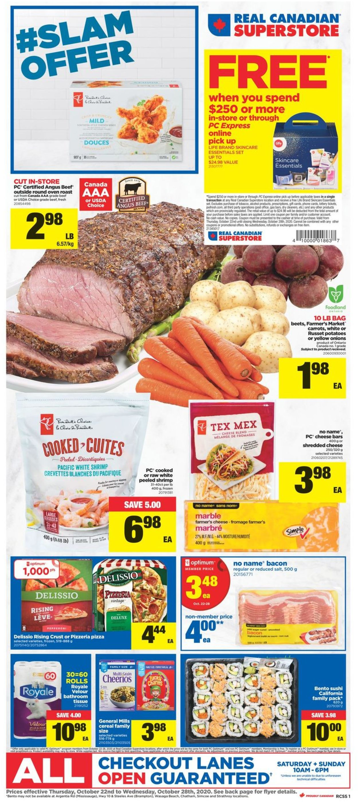 Real Canadian Superstore Flyer - 10/22-10/28/2020