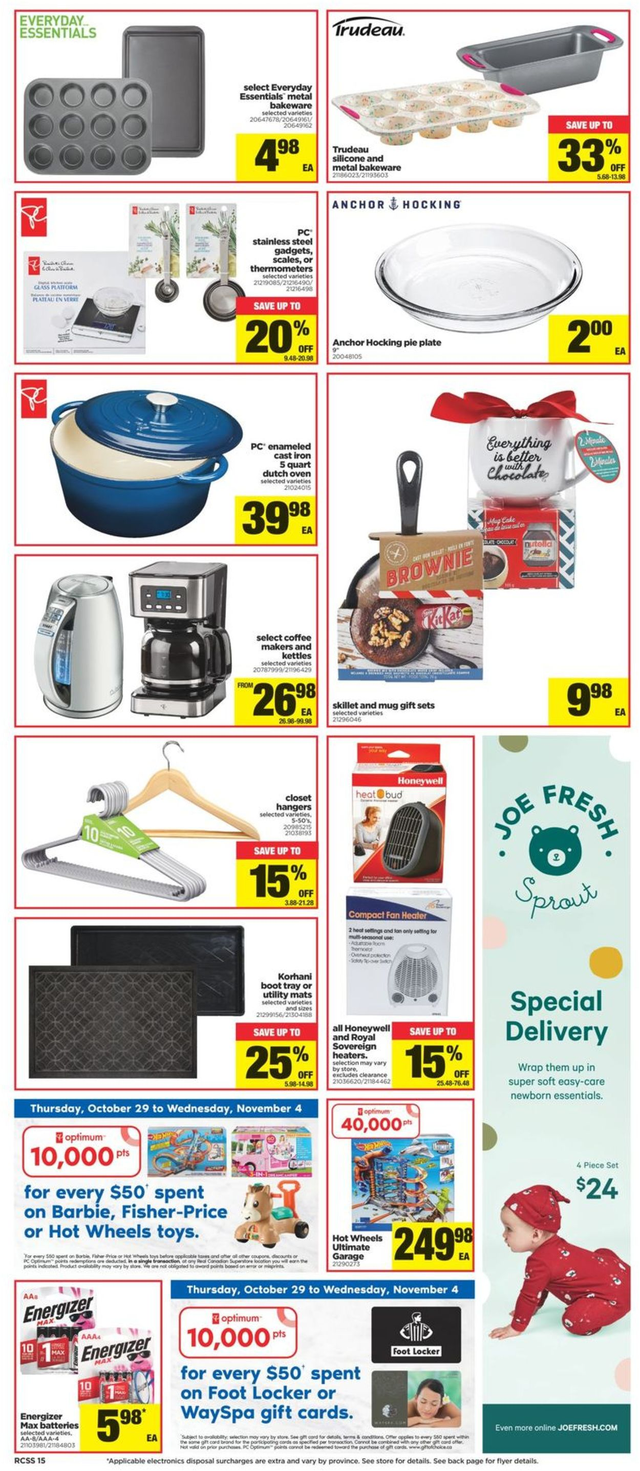 Real Canadian Superstore Flyer - 10/29-11/04/2020 (Page 14)