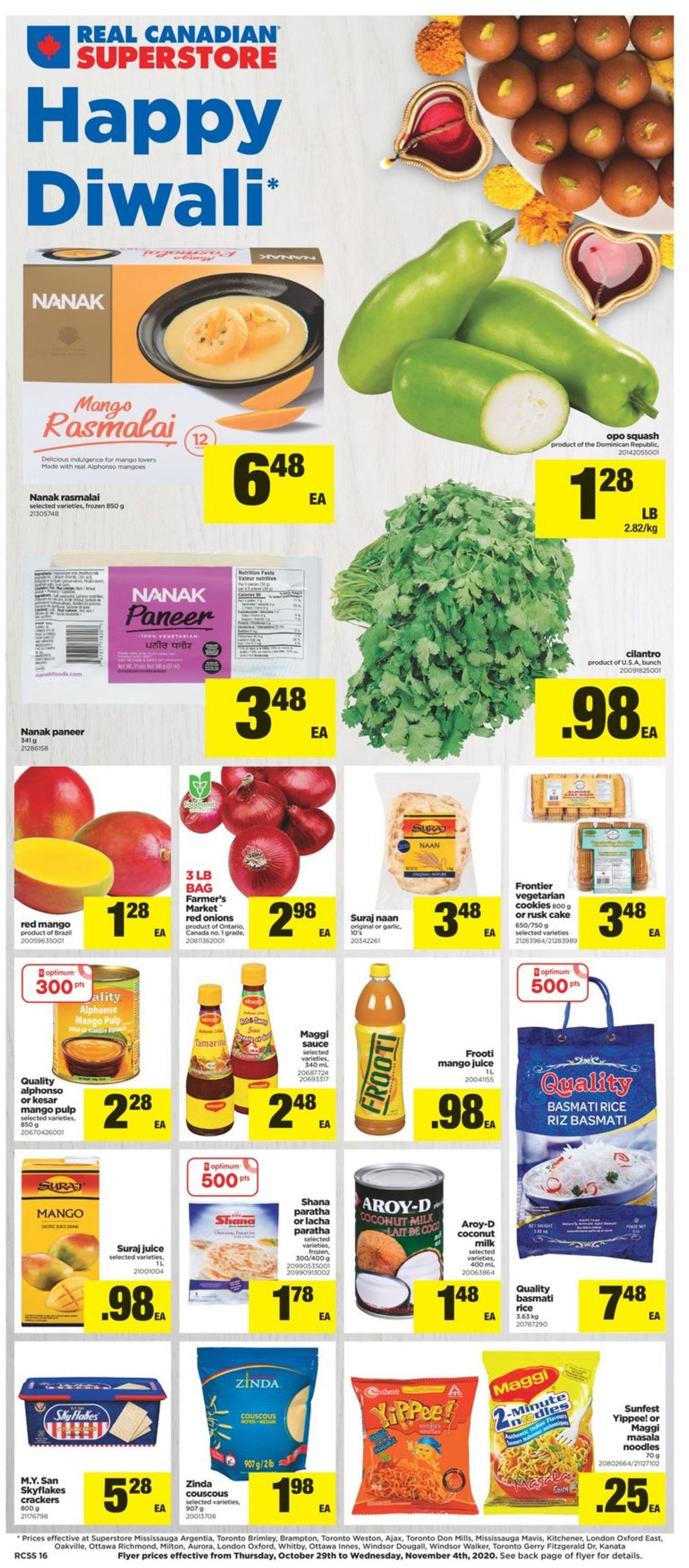 Real Canadian Superstore Flyer - 10/29-11/04/2020 (Page 16)